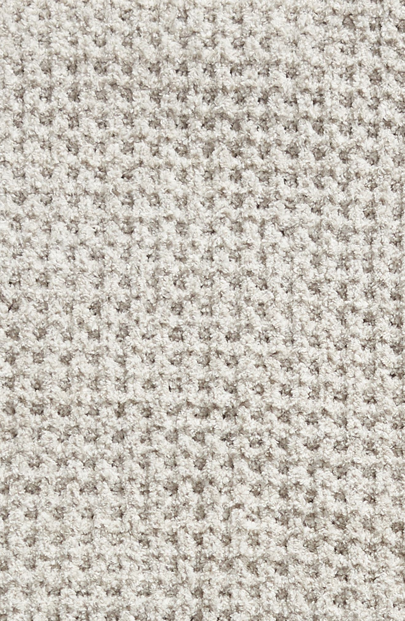 BAREFOOT DREAMS<SUP>®</SUP>,                             Barefoot Dreams CozyChic<sup>™</sup> Waffle Knit Throw,                             Alternate thumbnail 2, color,                             DOVE GRAY