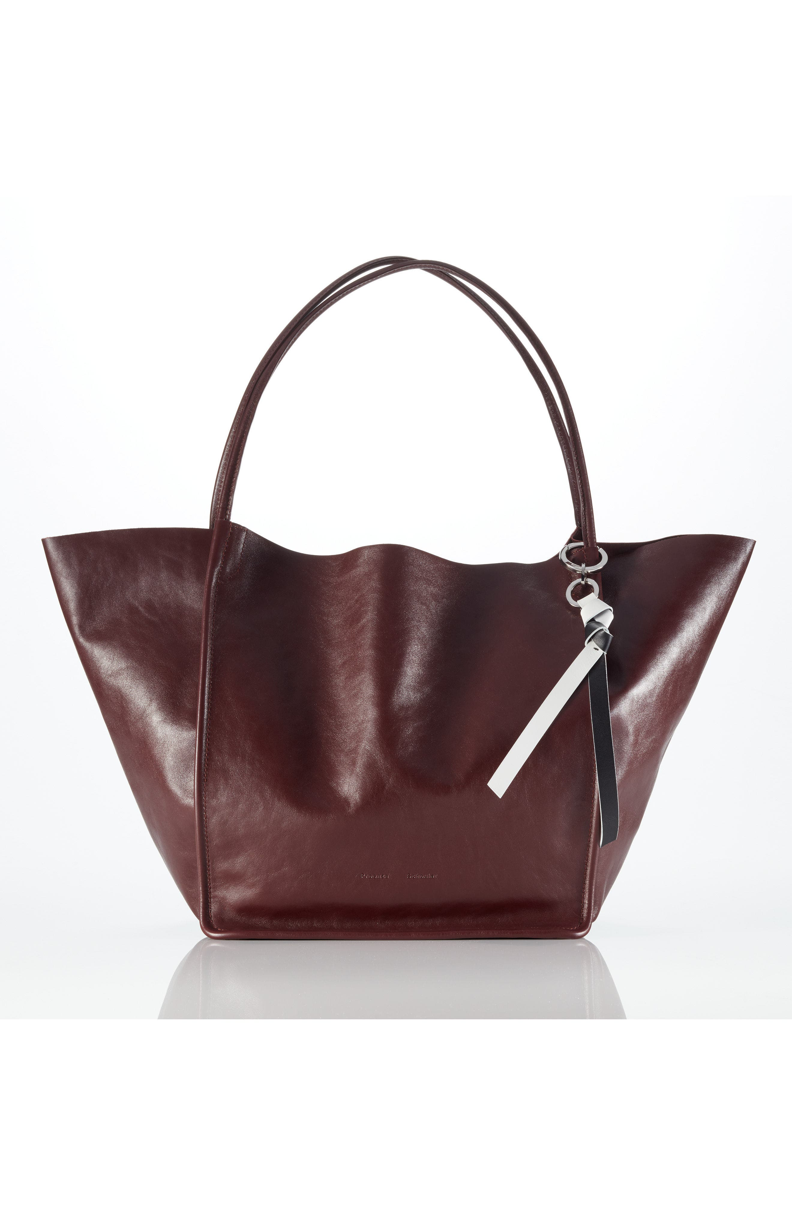 Small Suede Shoulder Bag,                             Alternate thumbnail 6, color,                             NERO/ NERO/ VERT RED VERT