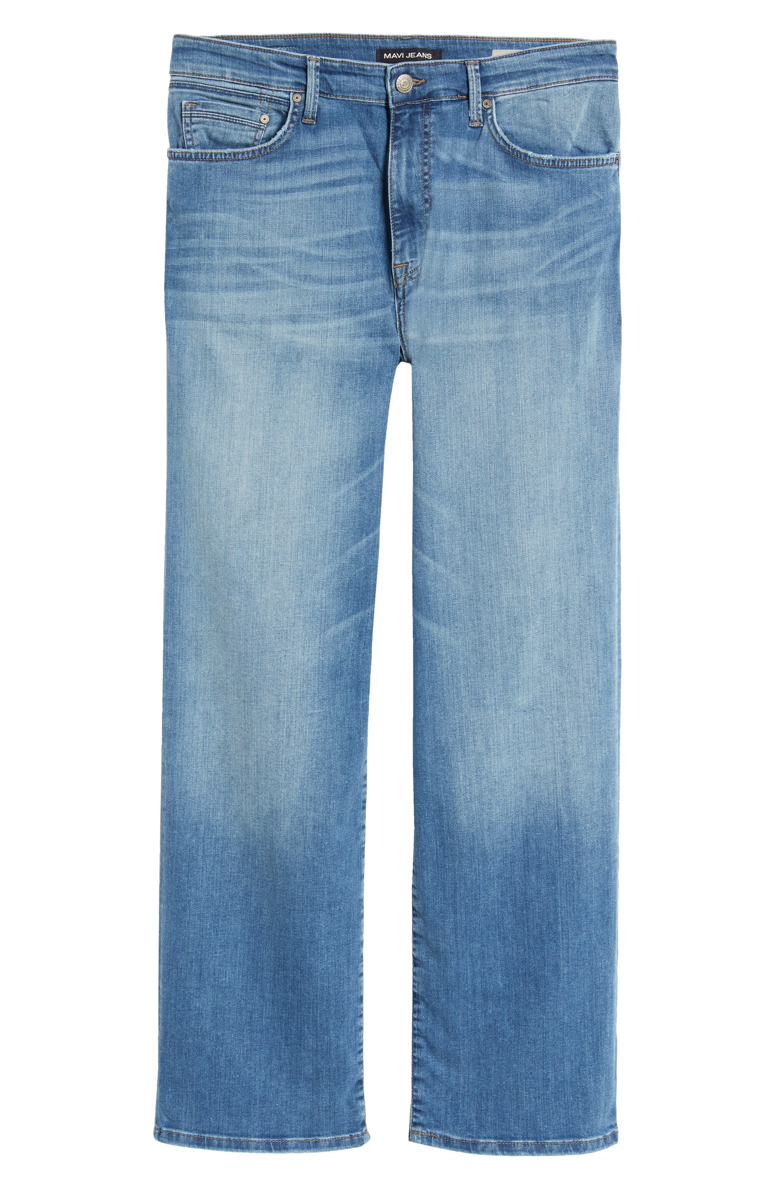 Max Relaxed Fit Jeans,                             Alternate thumbnail 6, color,                             401