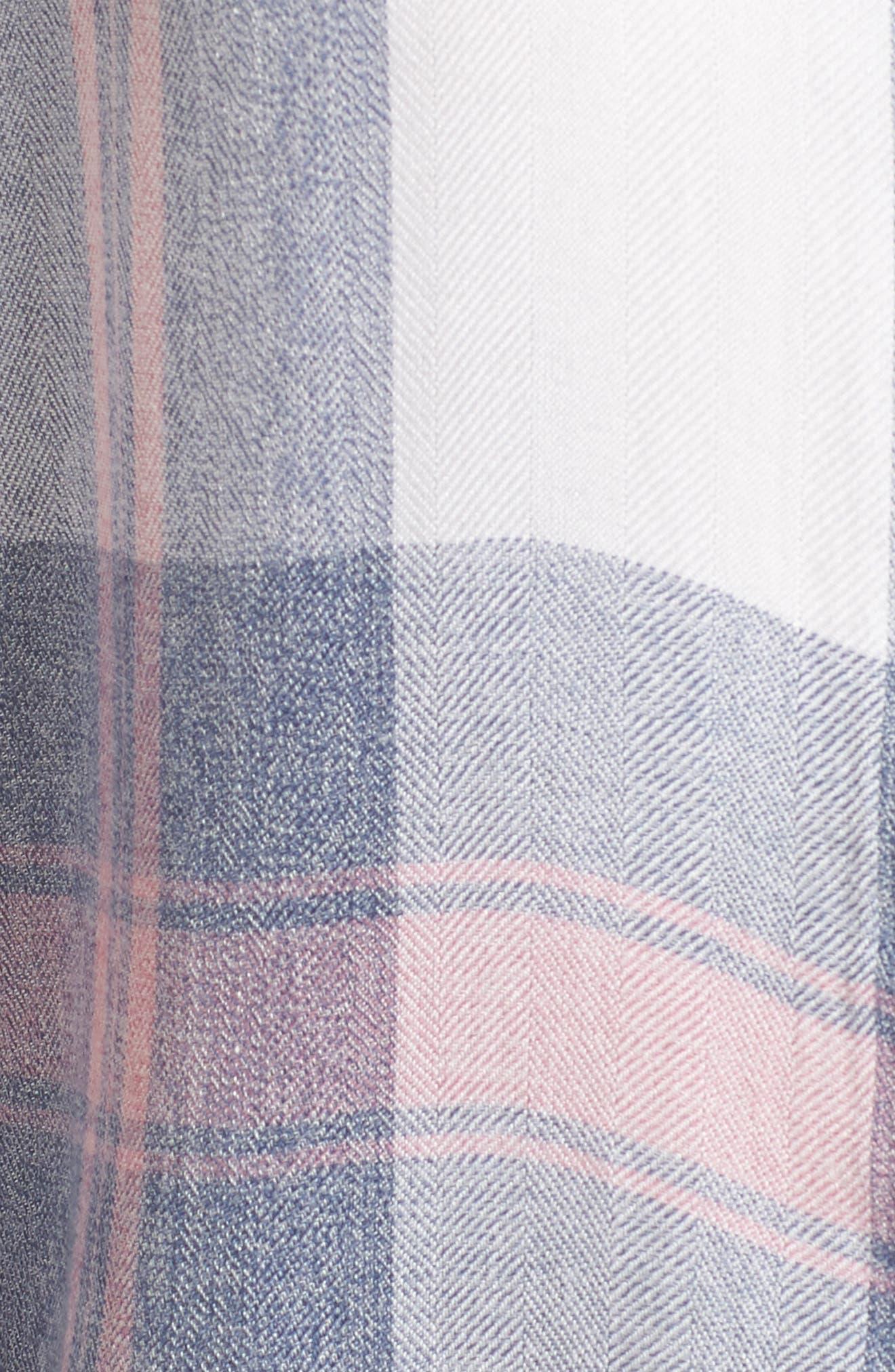 Hunter Plaid Shirt,                             Alternate thumbnail 613, color,