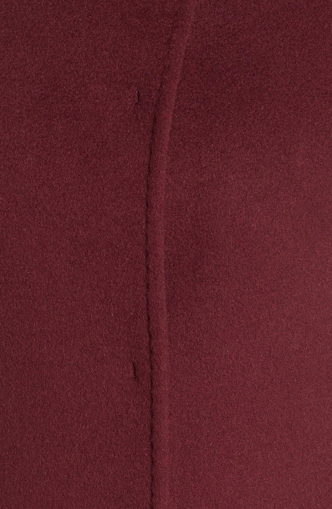 Cinzia Rocca Stand Collar Walking Coat,                             Alternate thumbnail 11, color,