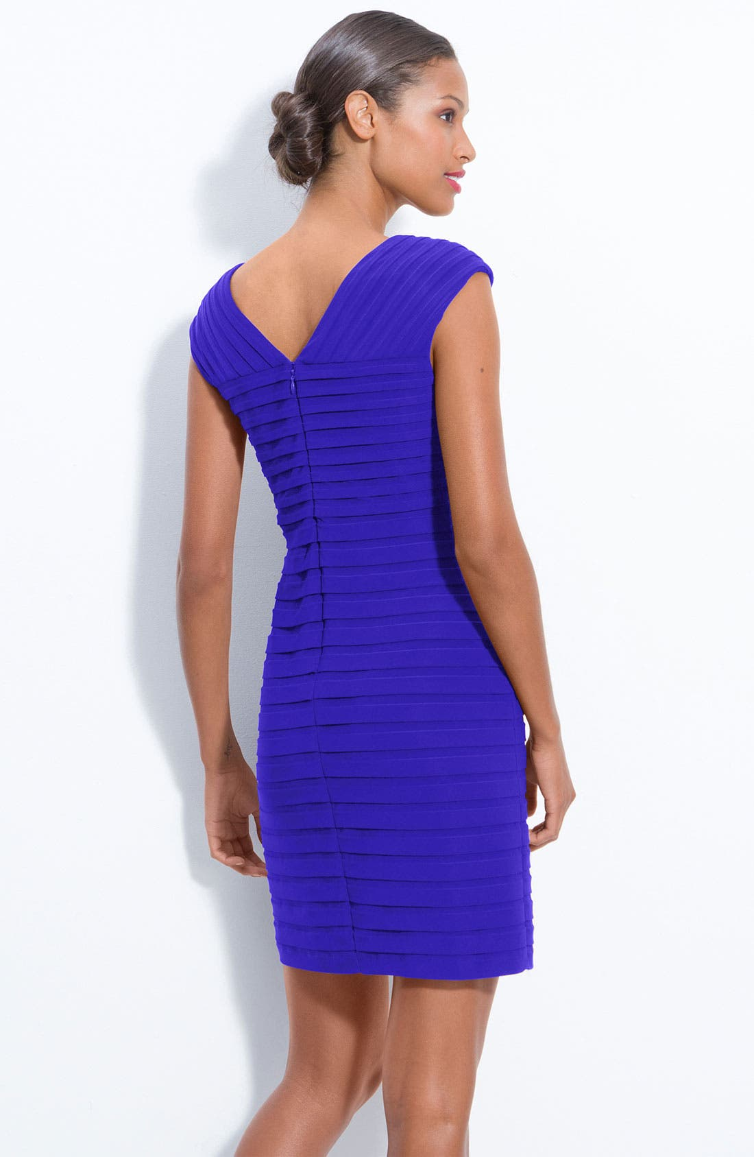 Pleated Sheath Dress,                             Alternate thumbnail 2, color,                             431