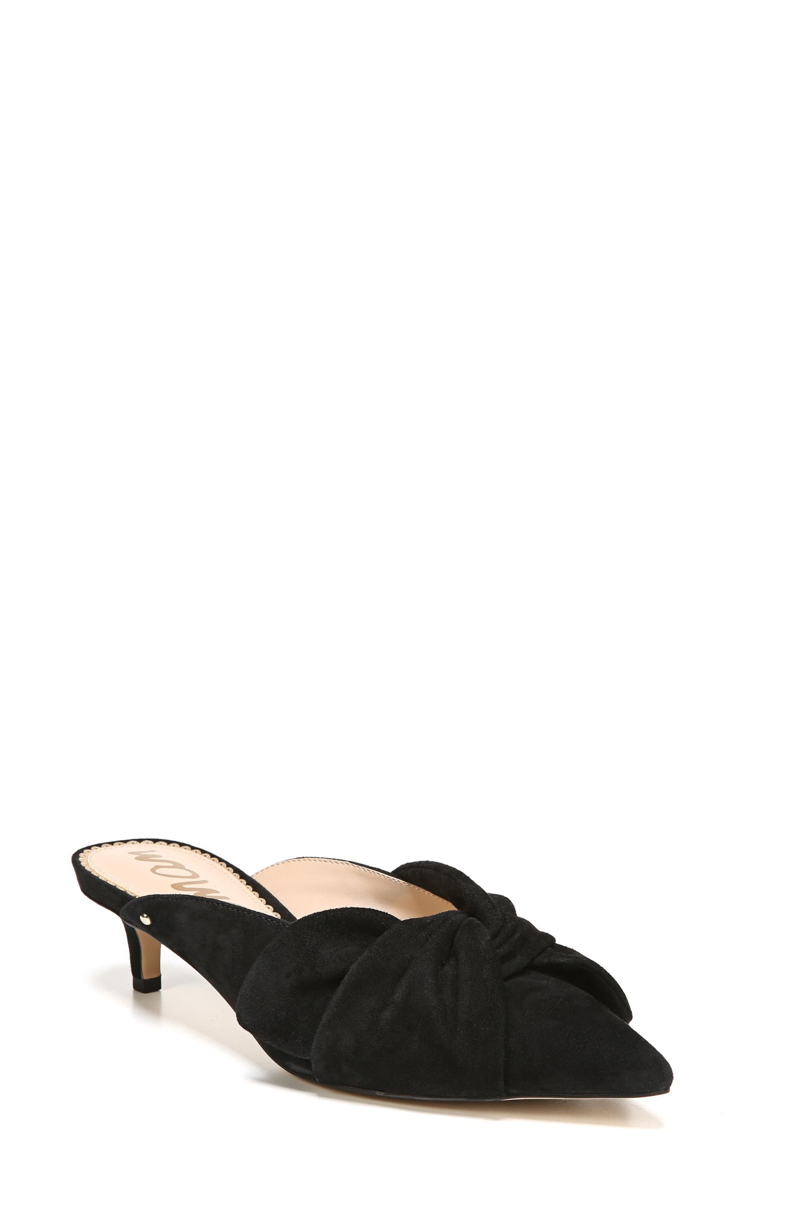 Laney Pointy Toe Mule,                         Main,                         color, 001