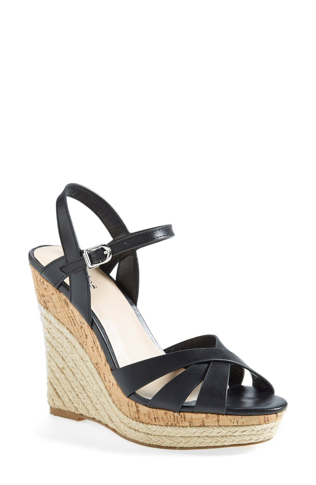 CHARLES BY CHARLES DAVID,                             'Astro' Espadrille Sandal,                             Main thumbnail 1, color,                             001