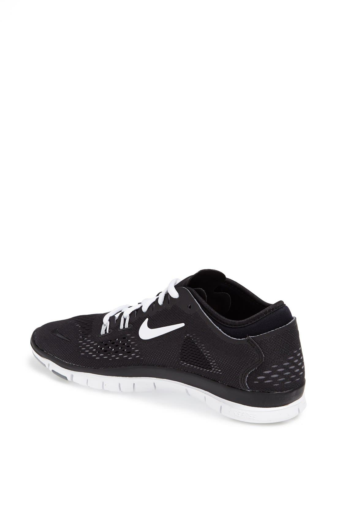 NIKE,                             'Free 5.0 TR Fit 4' Training Shoe,                             Alternate thumbnail 3, color,                             001
