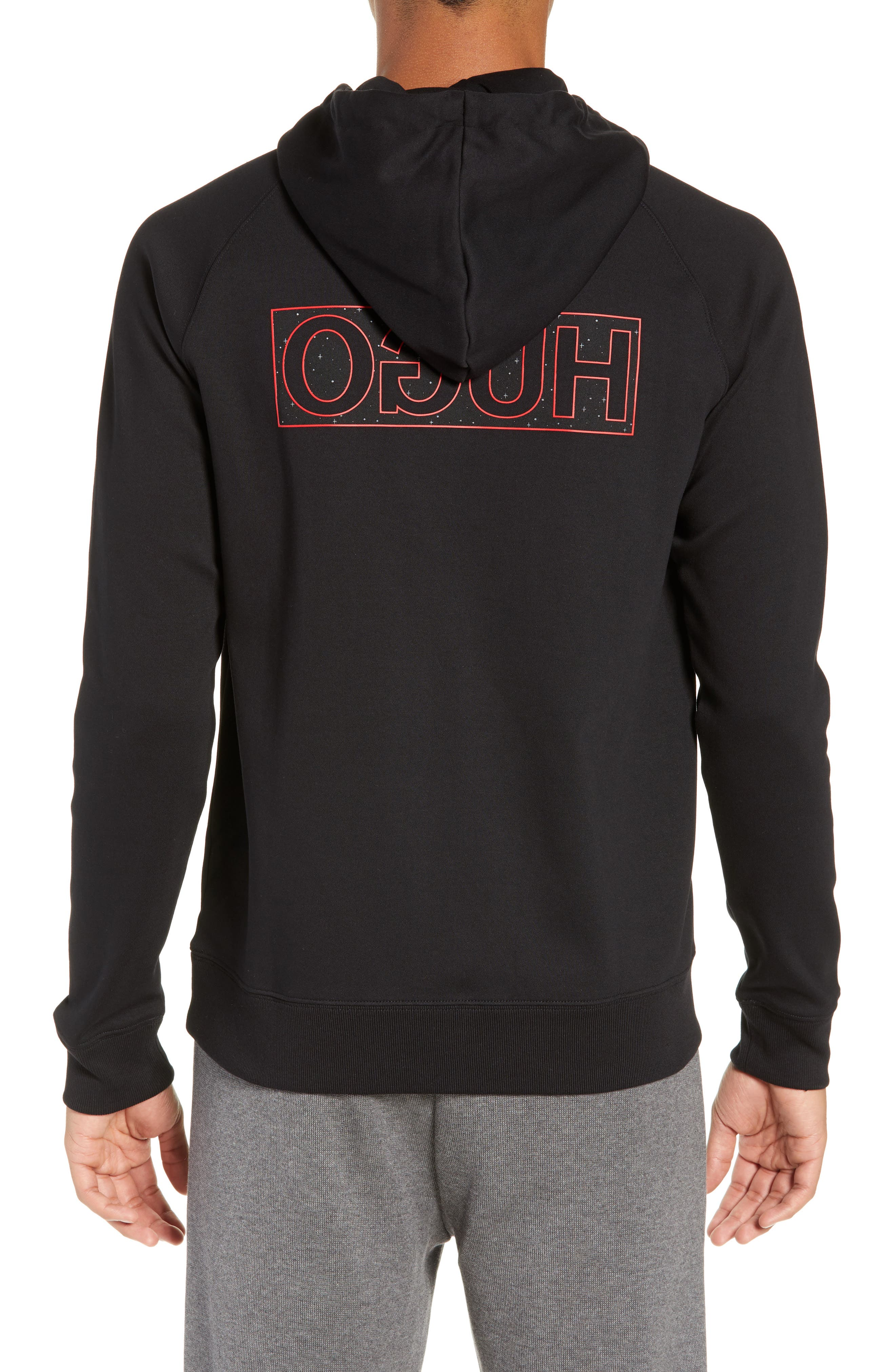 Darti Hoodie Sweatshirt,                             Alternate thumbnail 2, color,                             001
