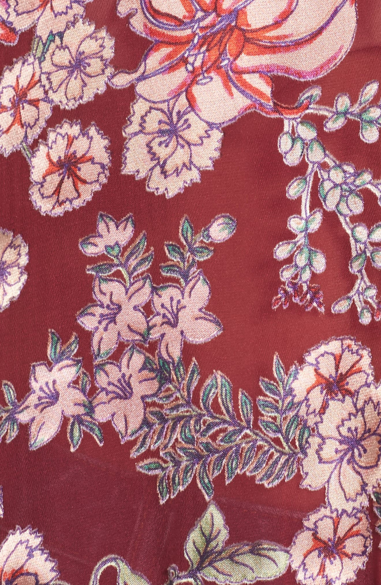Flora Button Back Blouse,                             Alternate thumbnail 5, color,                             930