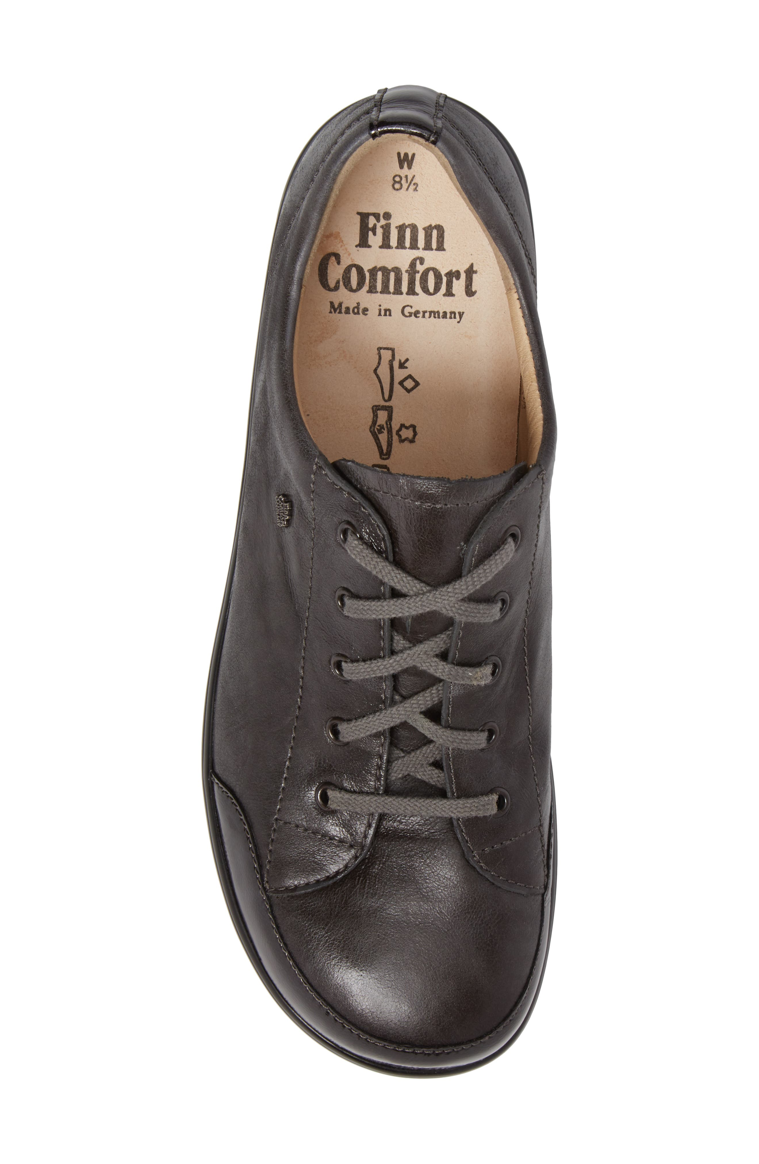 Altea Sneaker,                             Alternate thumbnail 5, color,                             GREY LEATHER