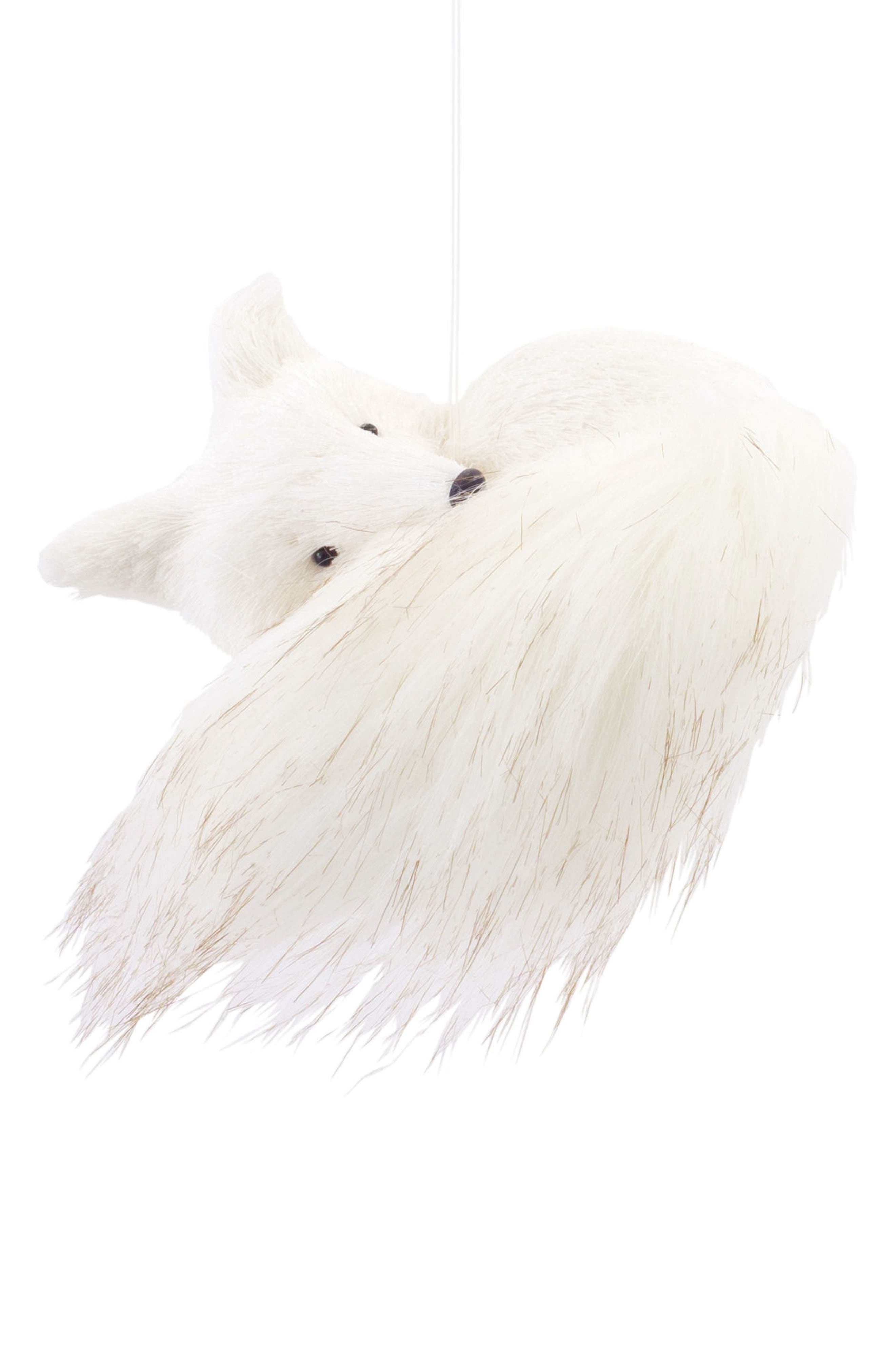 Lying Fox Ornament,                         Main,                         color, 020