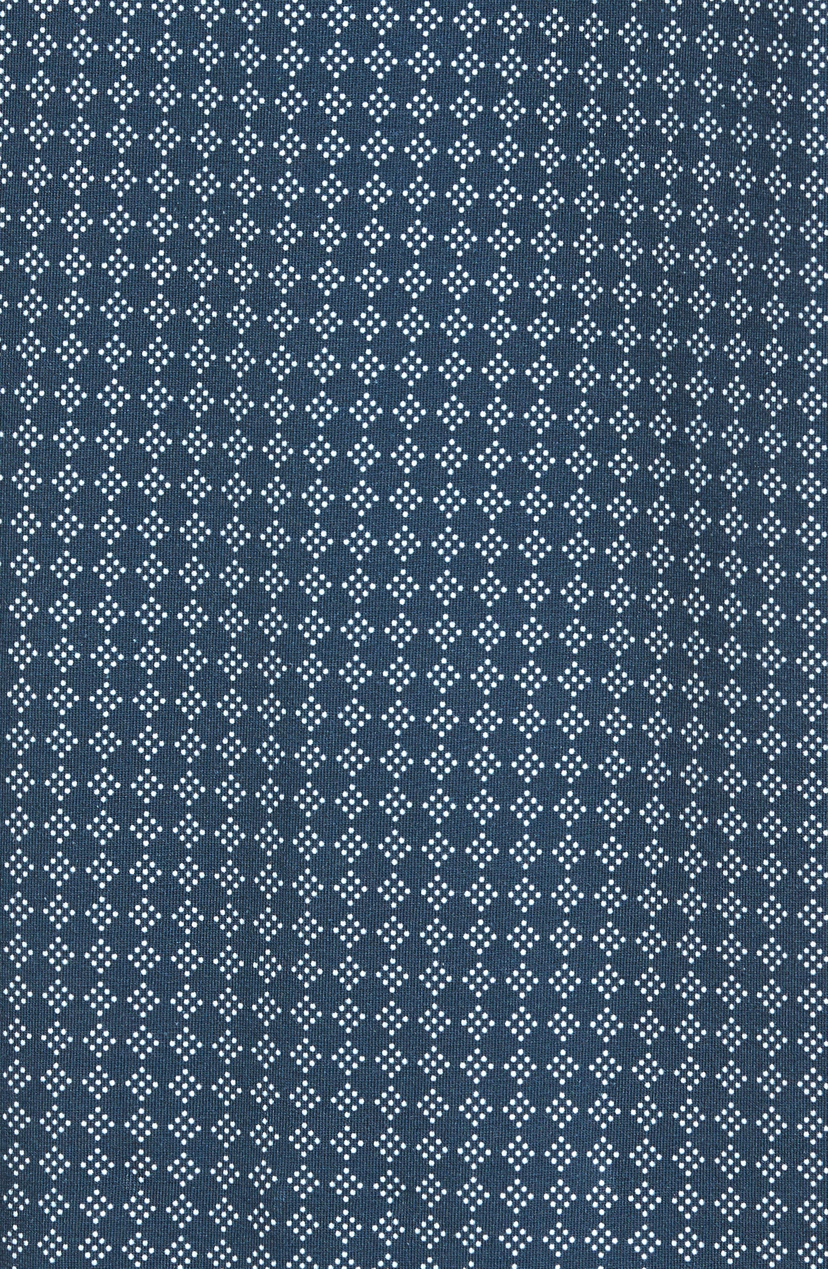 Pezze Slim Fit Geo Print Polo,                             Alternate thumbnail 5, color,                             410