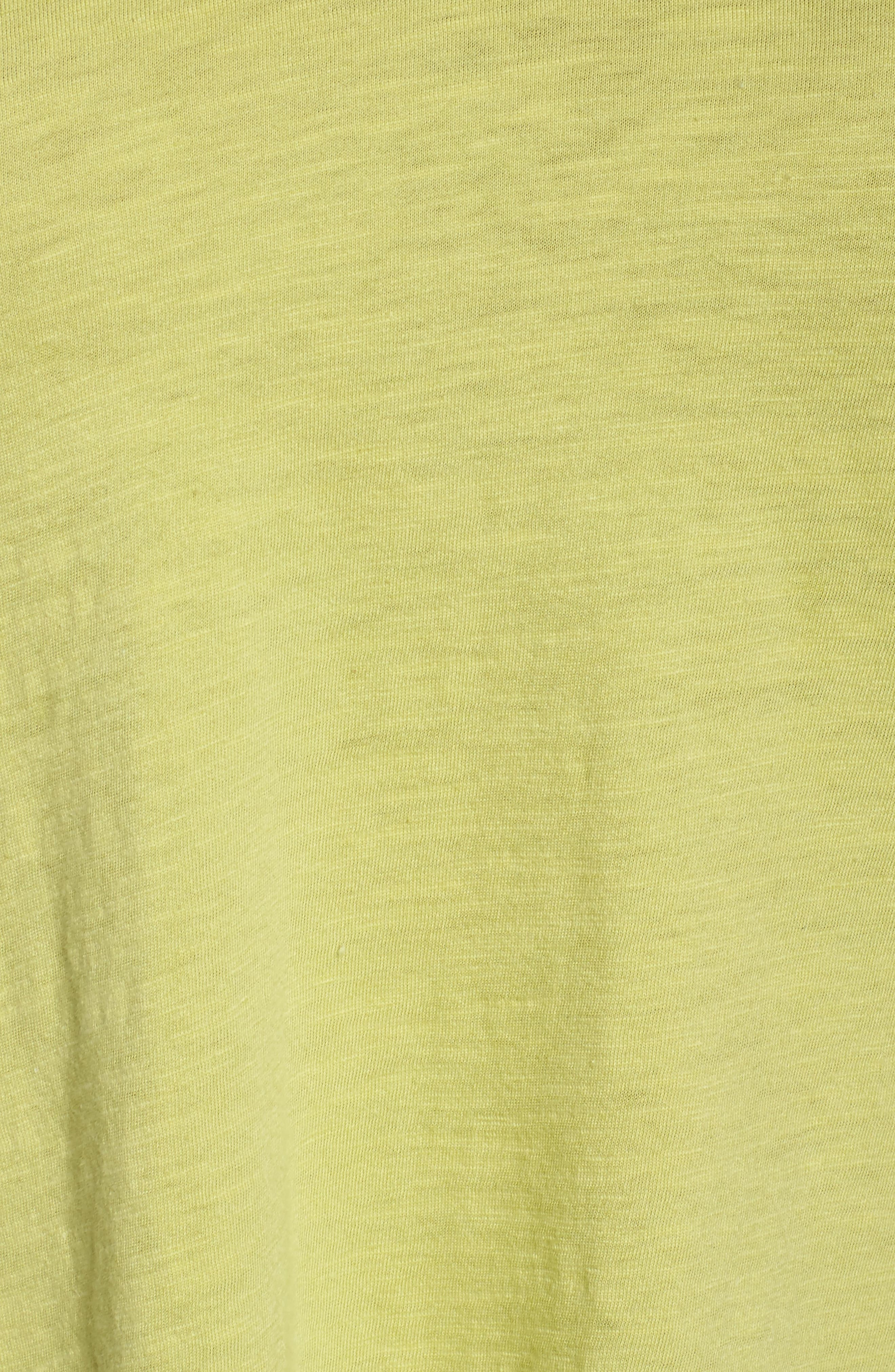 Organic Cotton V-Neck Top,                             Alternate thumbnail 32, color,