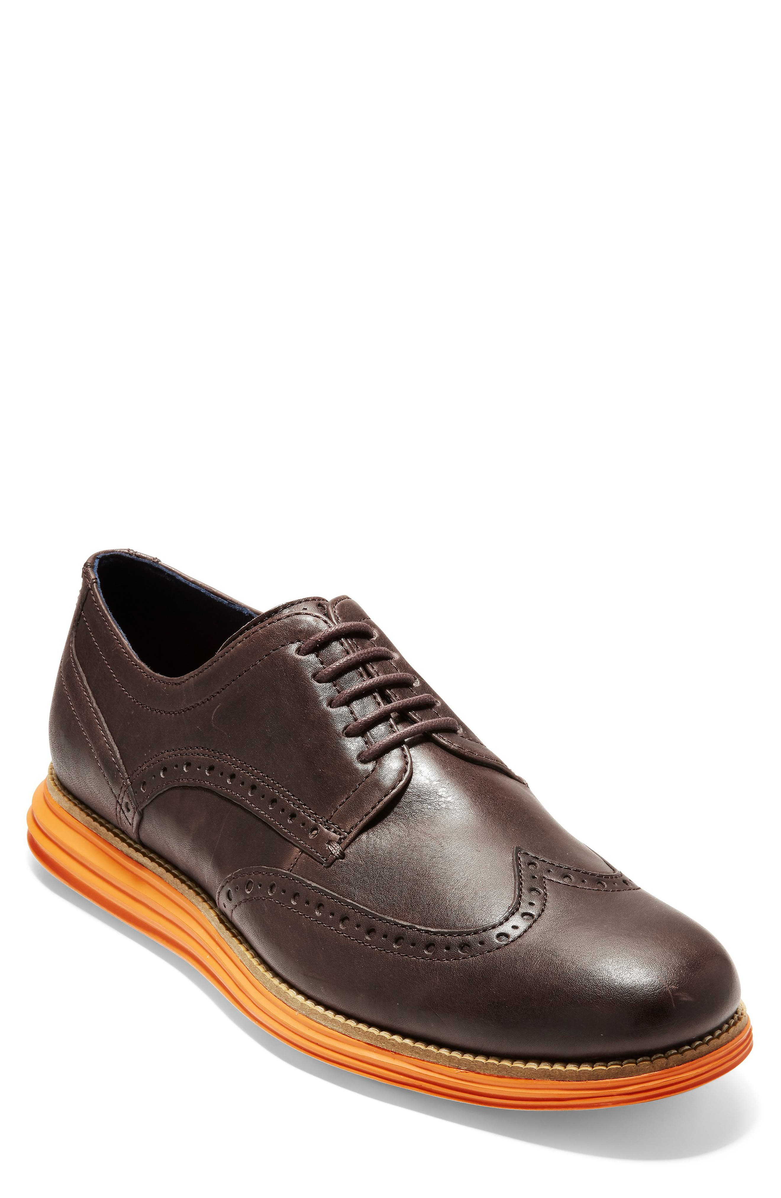Original Grand Wingtip,                             Main thumbnail 1, color,                             JAVA LEATHER