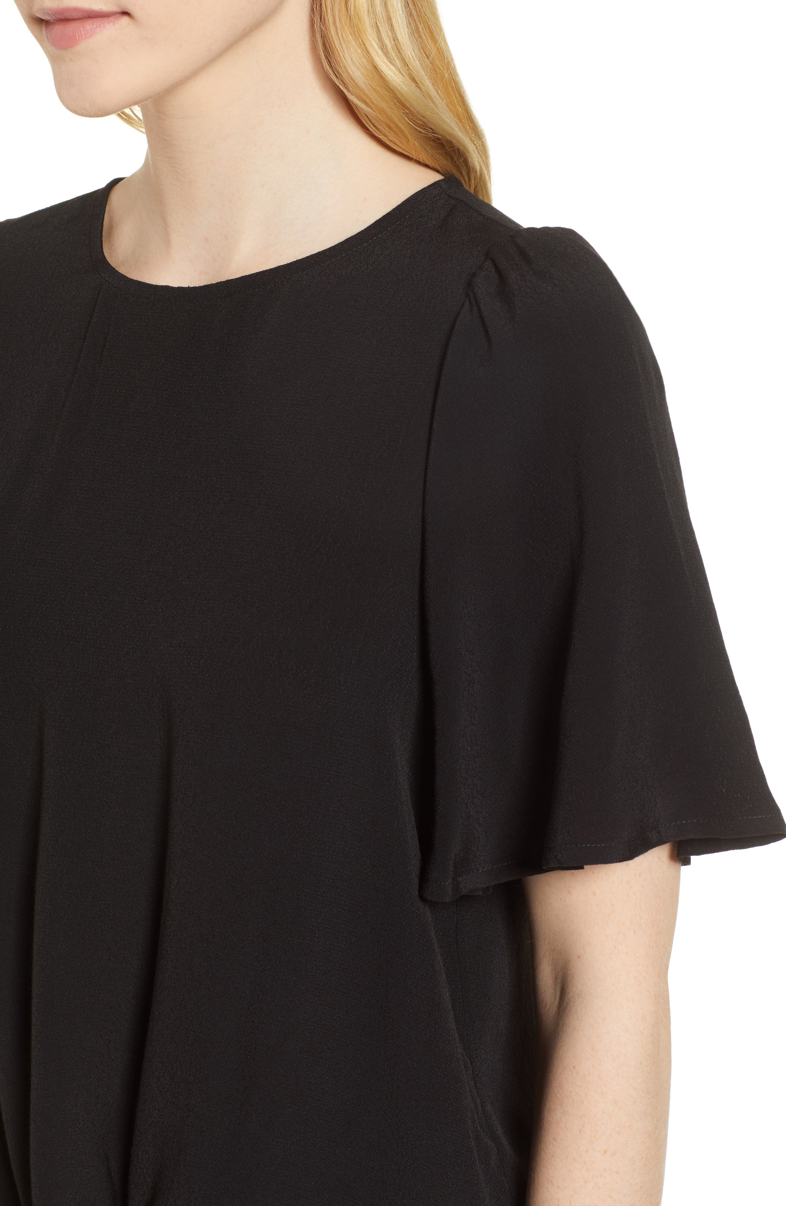 Ruffle Tie Front Top,                             Alternate thumbnail 14, color,
