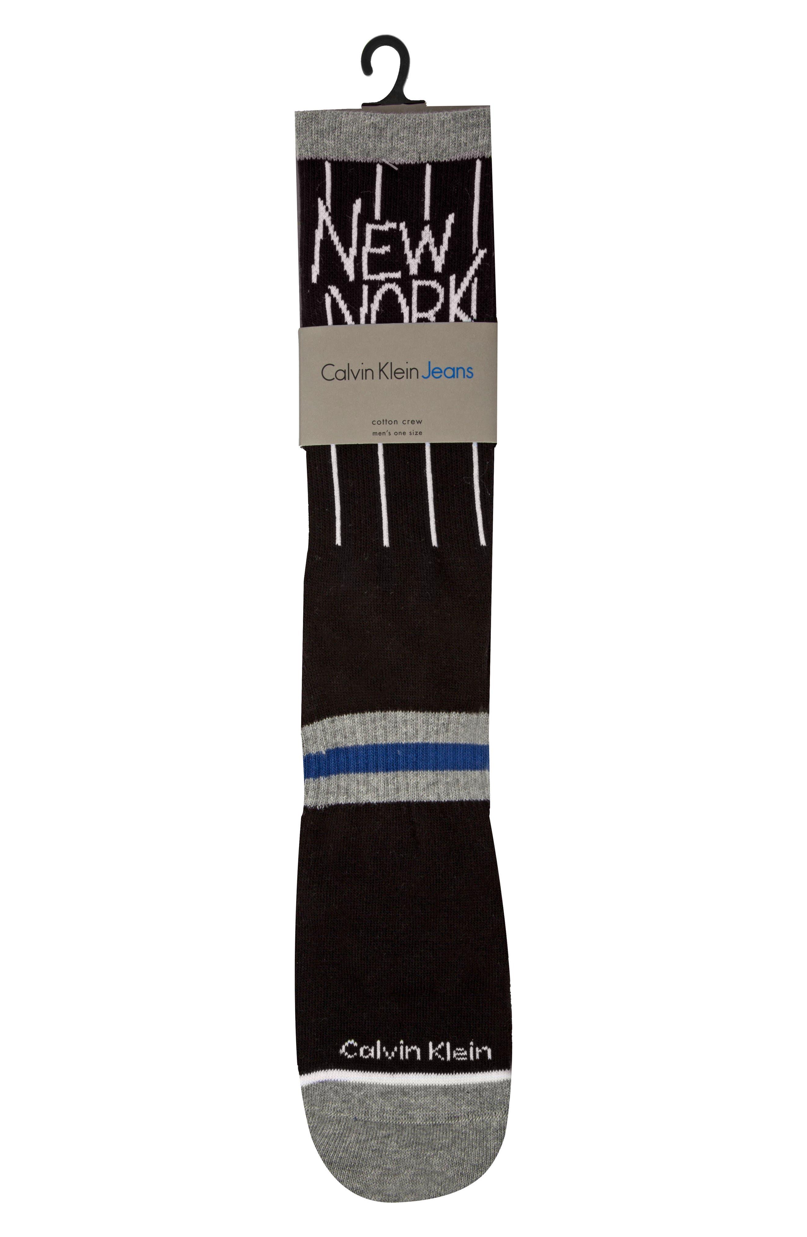 CALVIN KLEIN,                             Team New York Socks,                             Alternate thumbnail 2, color,                             001