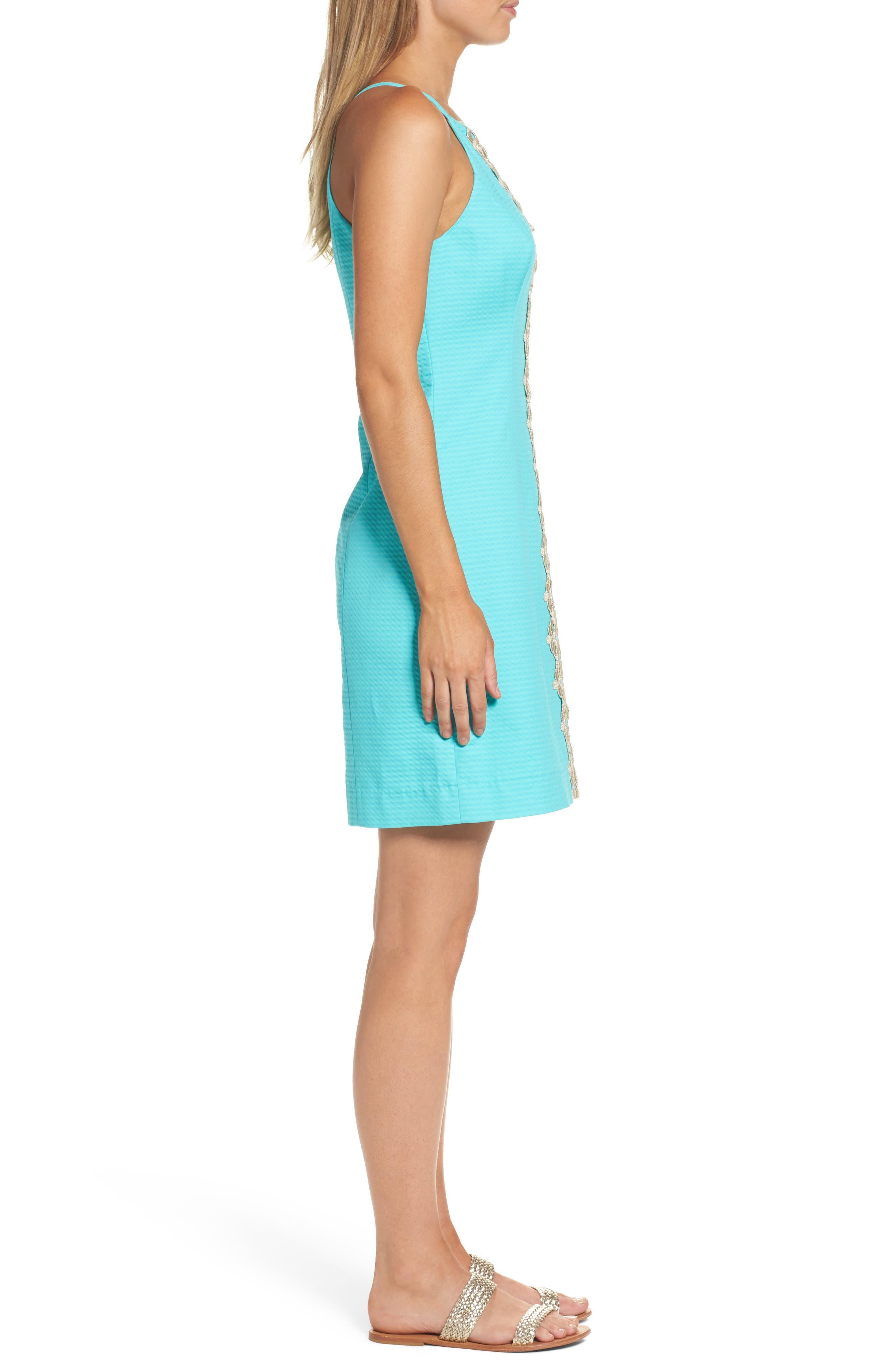 Pearl Sheath Dress,                             Alternate thumbnail 3, color,                             436