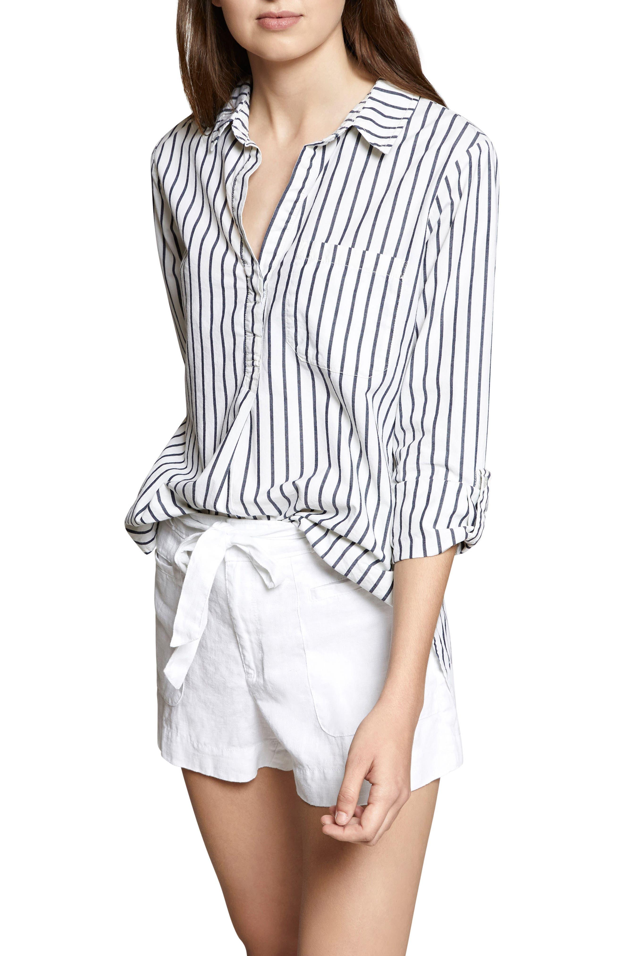 Miles Maxi Stripe Tunic Top,                         Main,                         color,