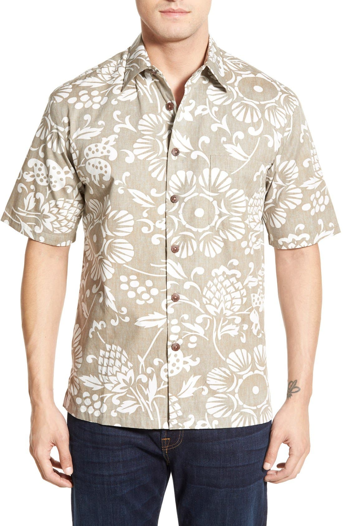 'Dukes Par' Regular Fit Sport Shirt,                         Main,                         color, 210