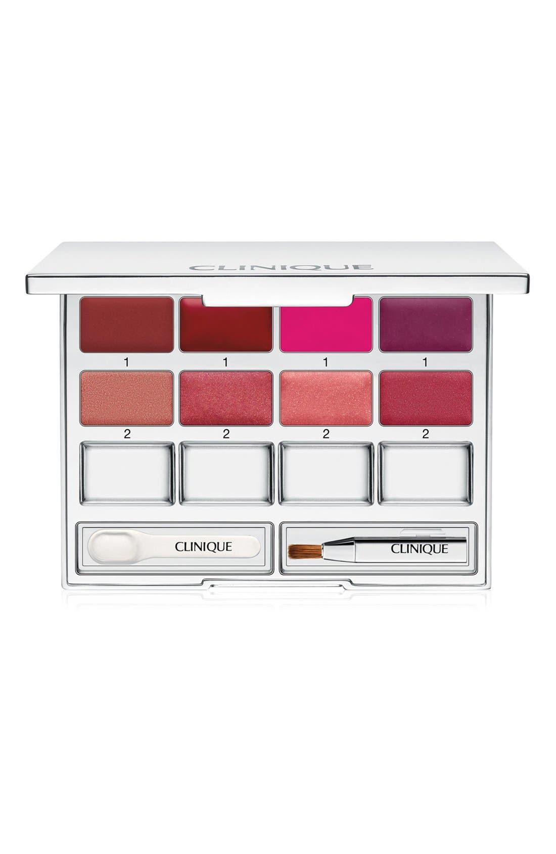 'Pretty Easy' Lip Palette, Main, color, 000