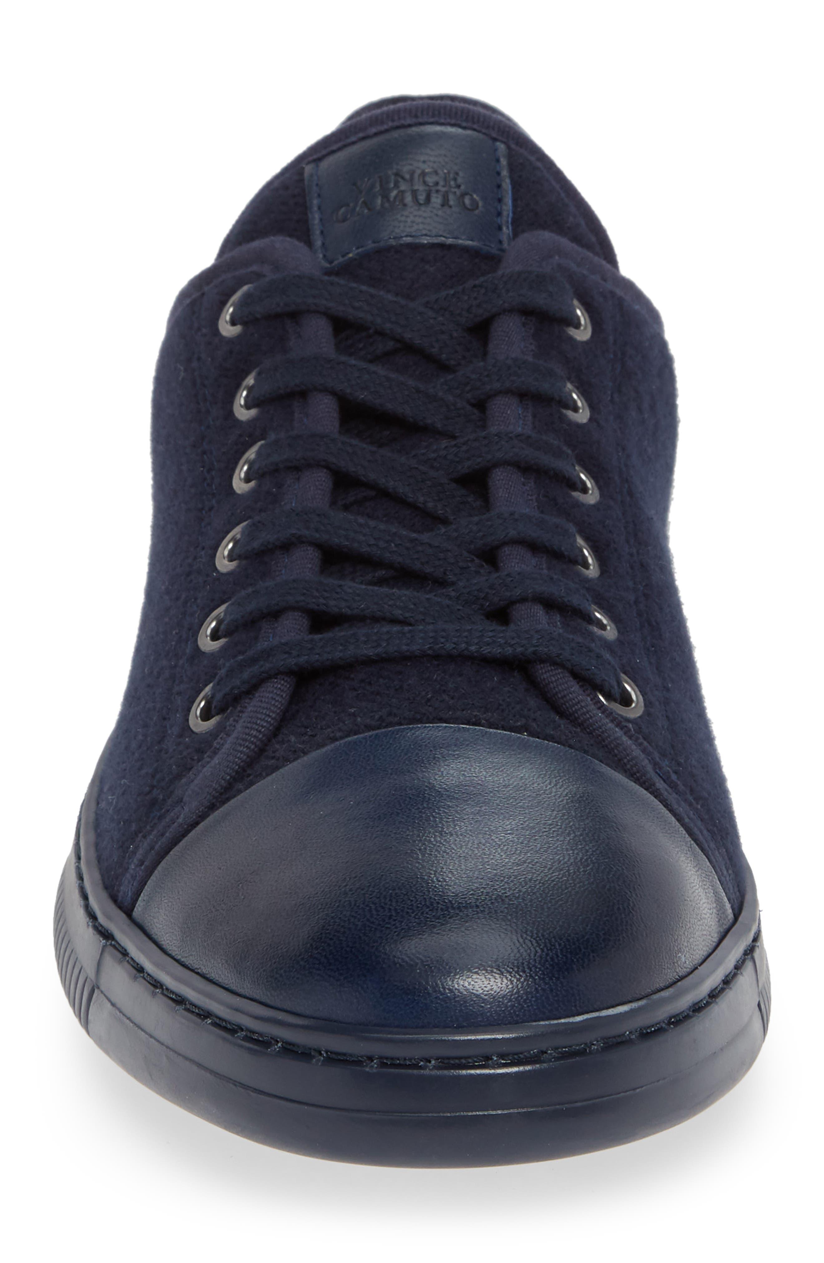 Jovani Sneaker,                             Alternate thumbnail 4, color,                             BLUE FABRIC