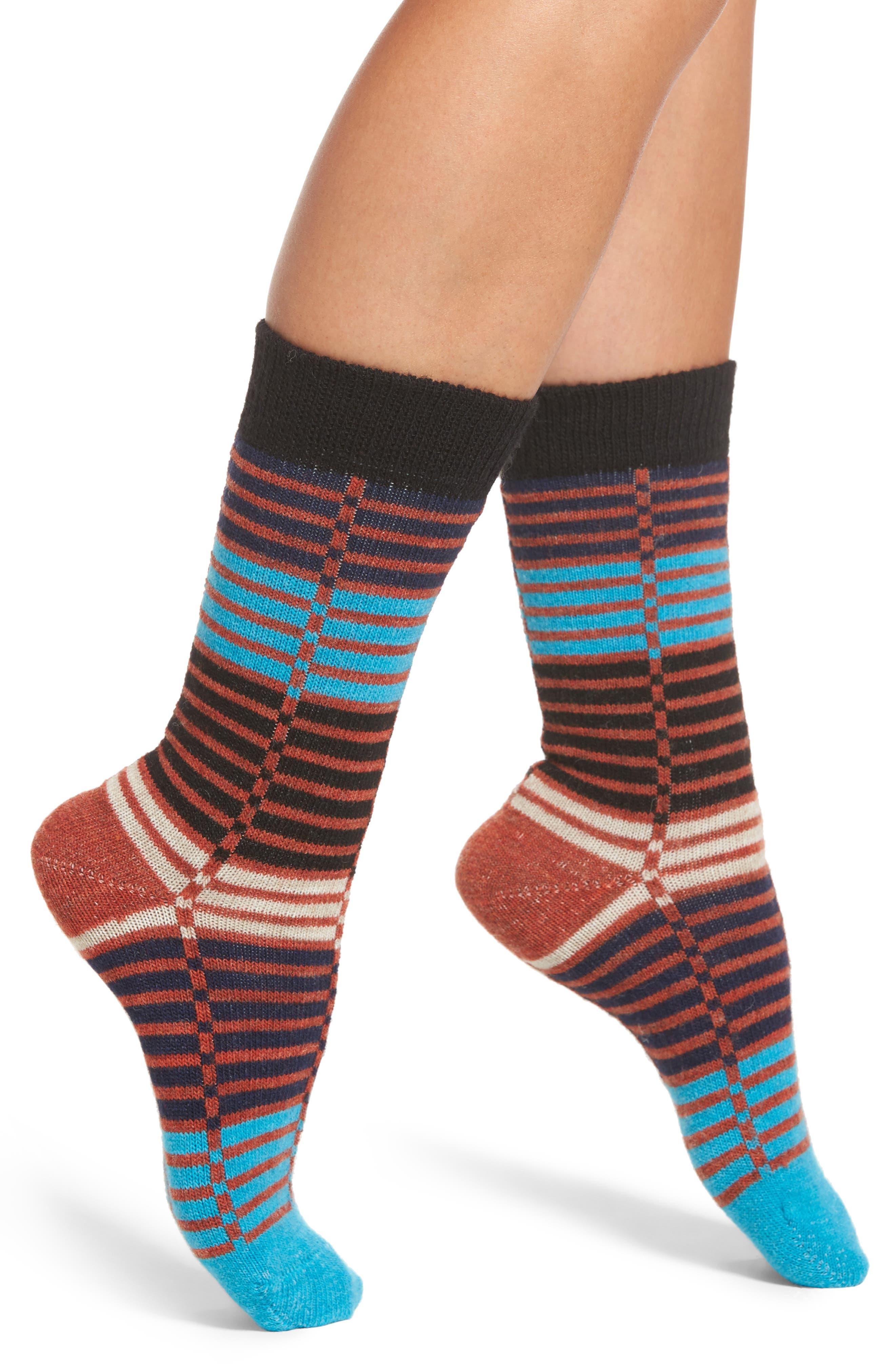 Ellinor Crew Socks,                             Main thumbnail 1, color,