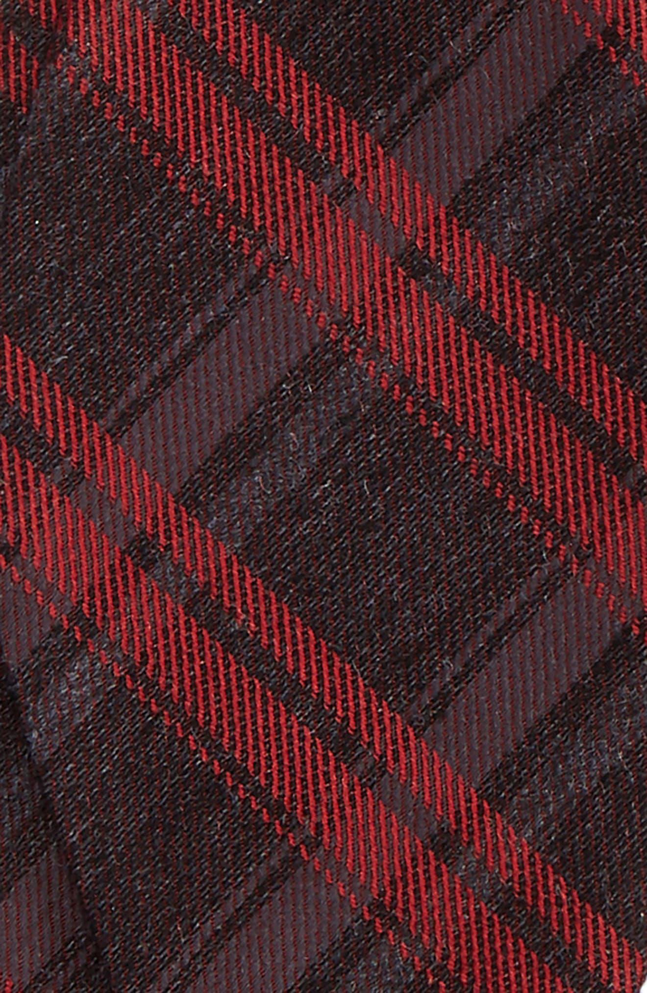 Plaid Bow Tie,                             Alternate thumbnail 3, color,