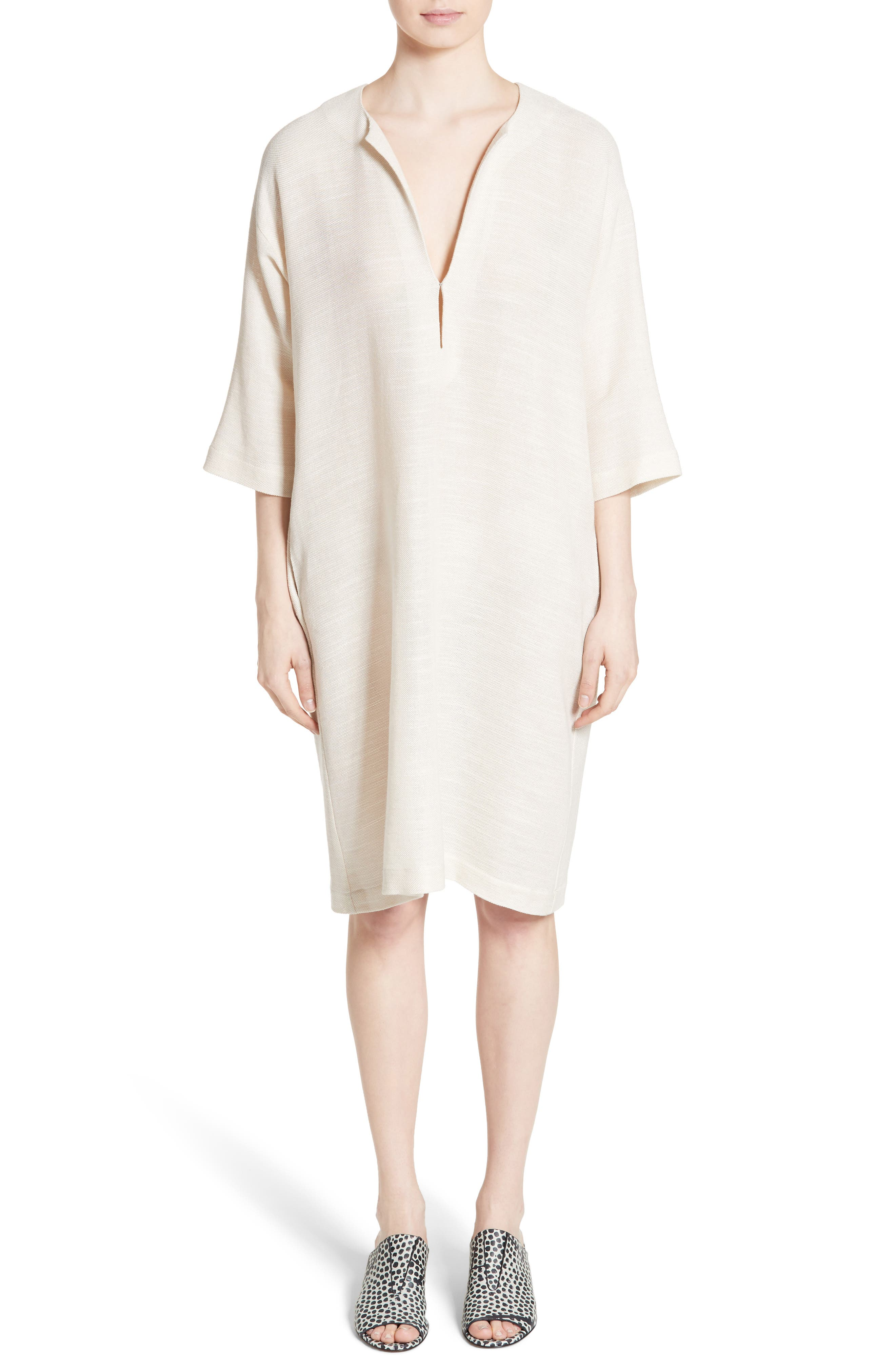 MC Mesh Drape Dress,                         Main,                         color,