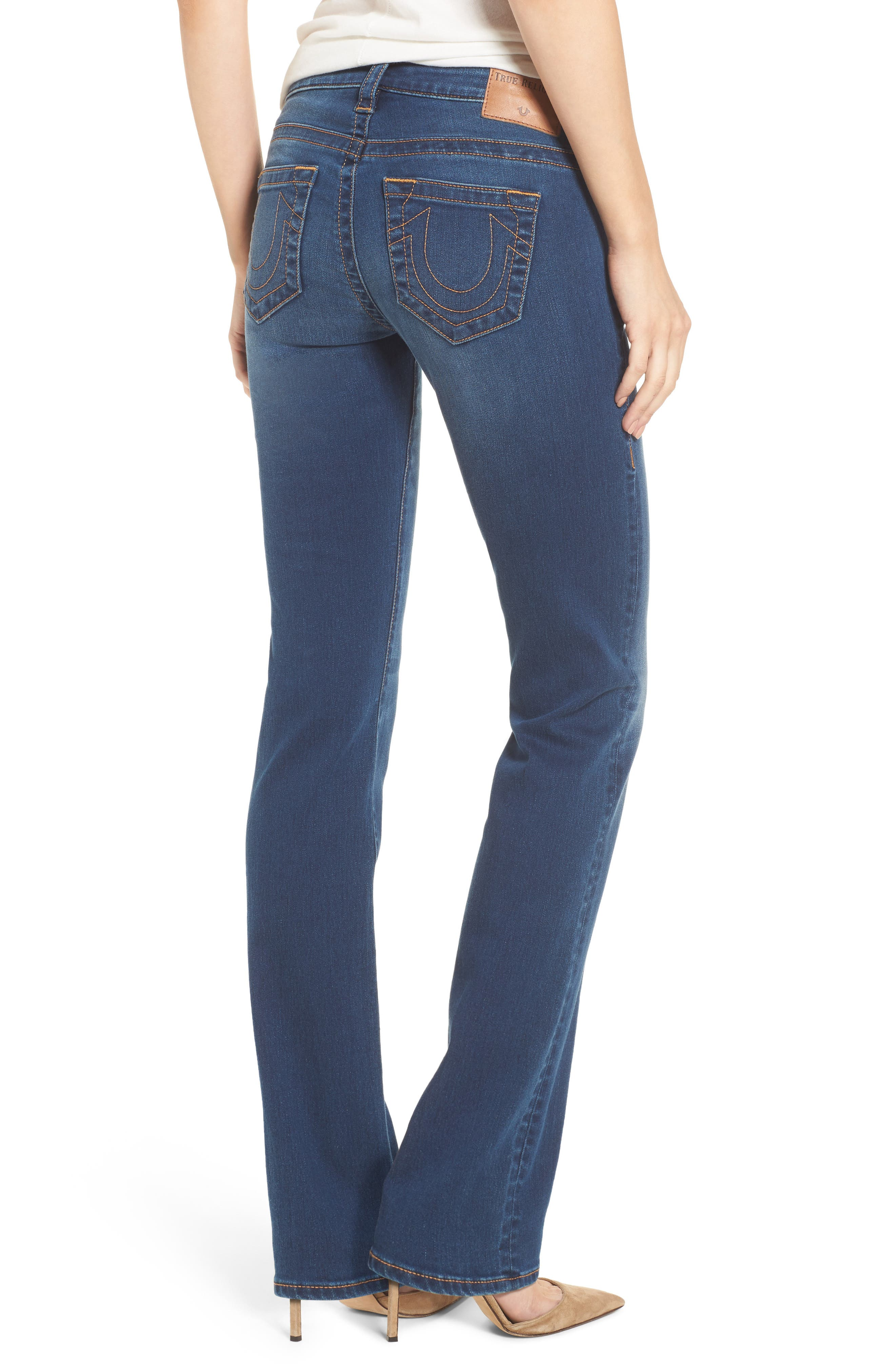 Billie Straight Leg Jeans,                             Alternate thumbnail 2, color,                             400