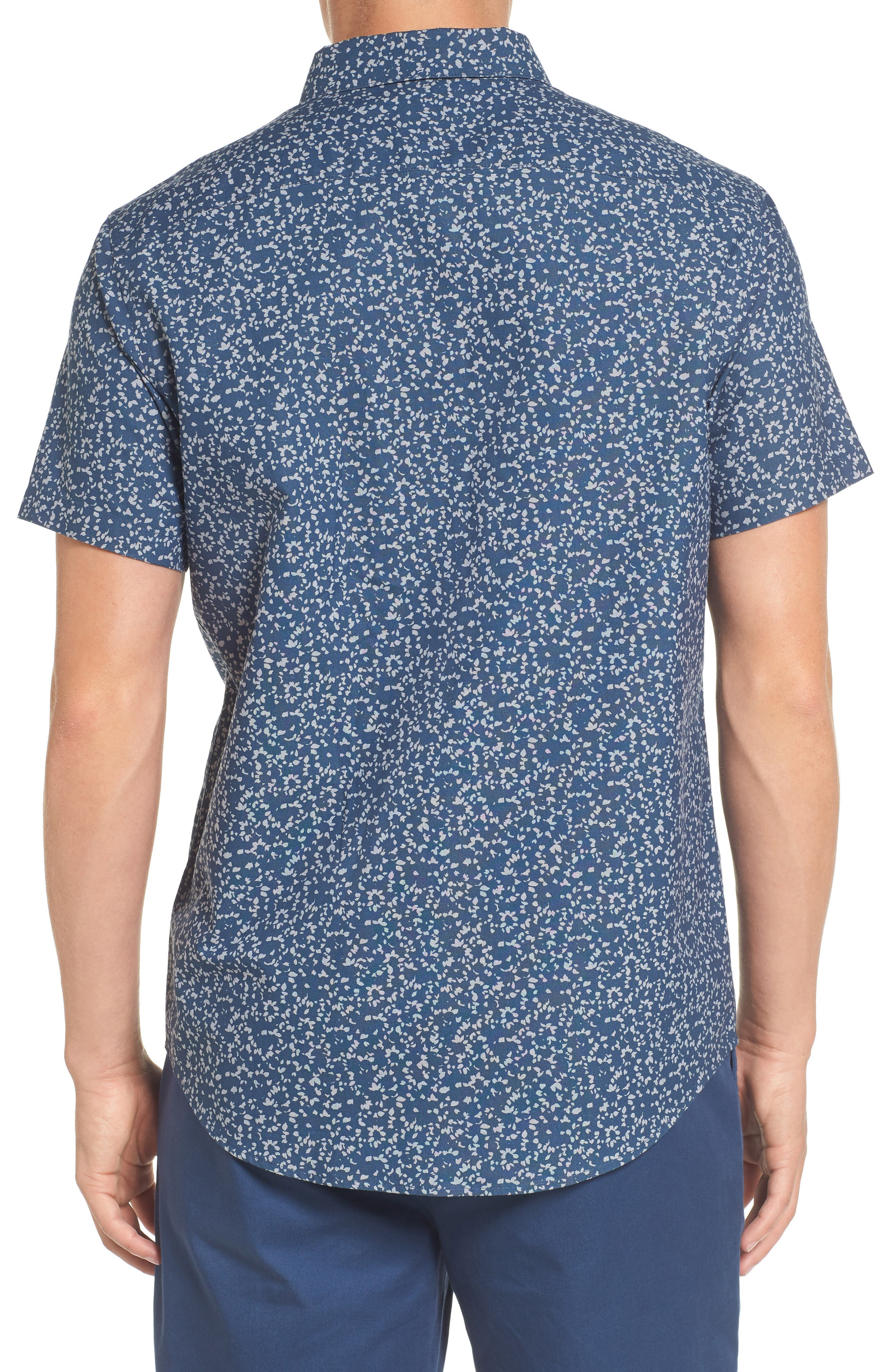 That'll Do Floral Woven Shirt,                             Alternate thumbnail 5, color,
