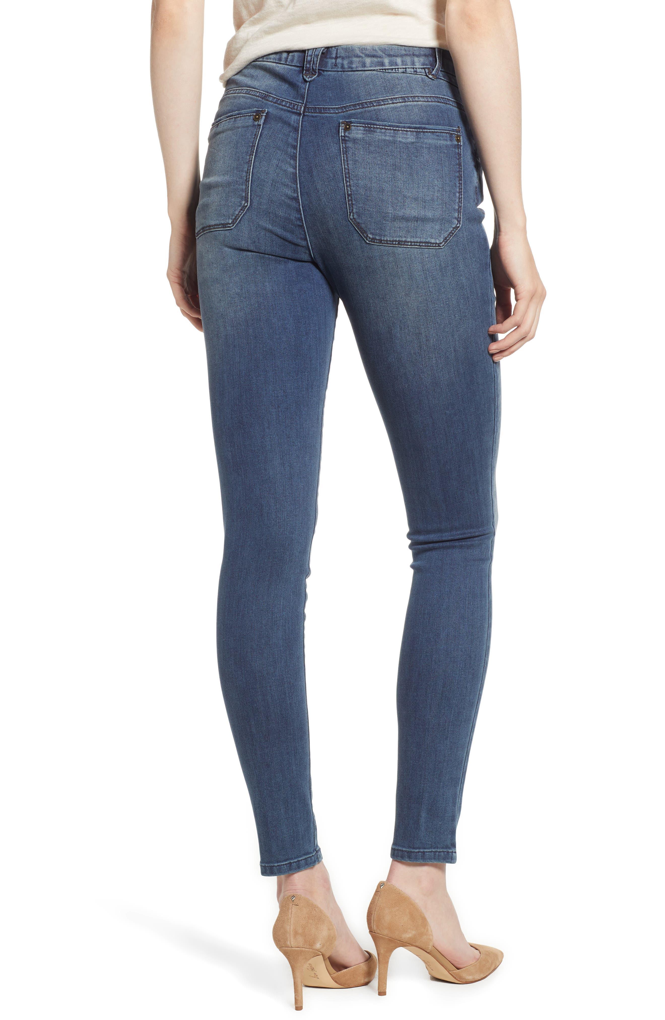 Ab-Solution High Waist Skinny Jeans,                             Alternate thumbnail 2, color,                             420