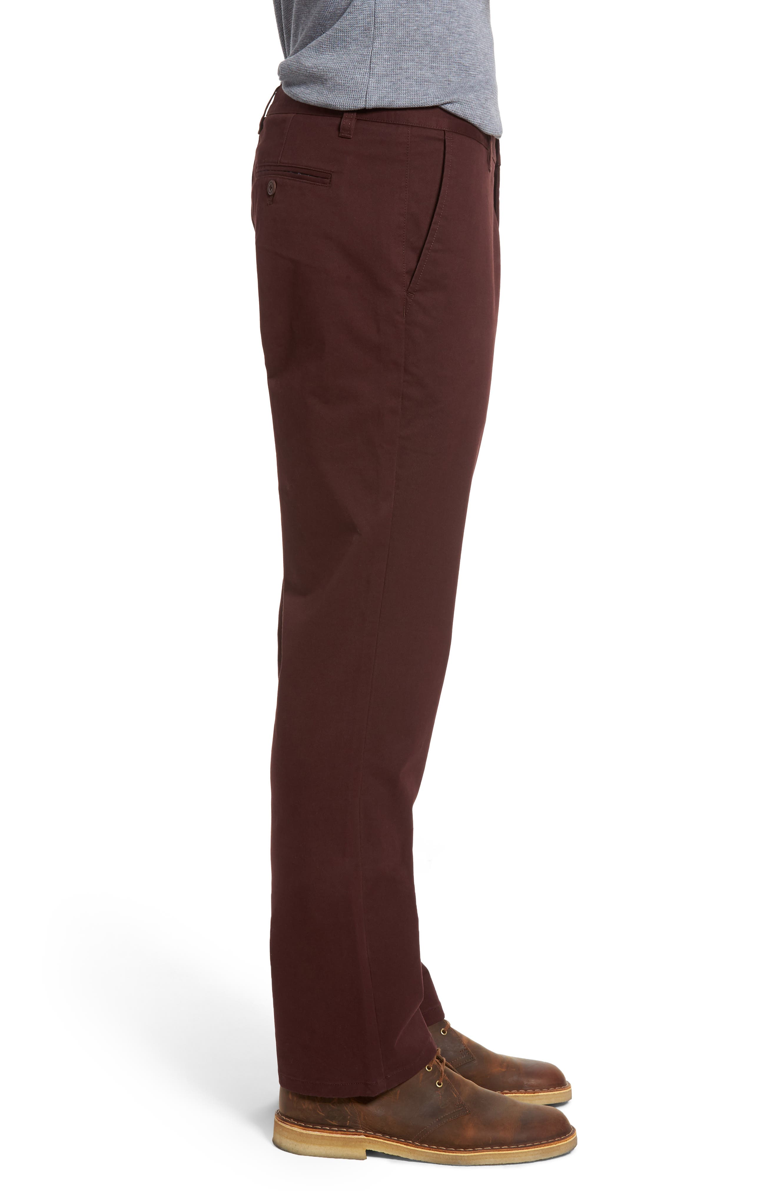 Straight Leg Stretch Washed Chinos,                             Alternate thumbnail 12, color,
