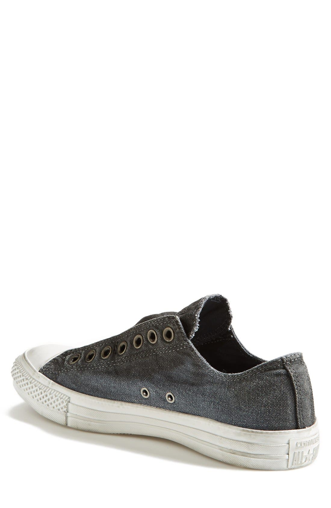 CONVERSE,                             Chuck Taylor<sup>®</sup> All Star<sup>®</sup> Laceless Sneaker,                             Alternate thumbnail 3, color,                             020