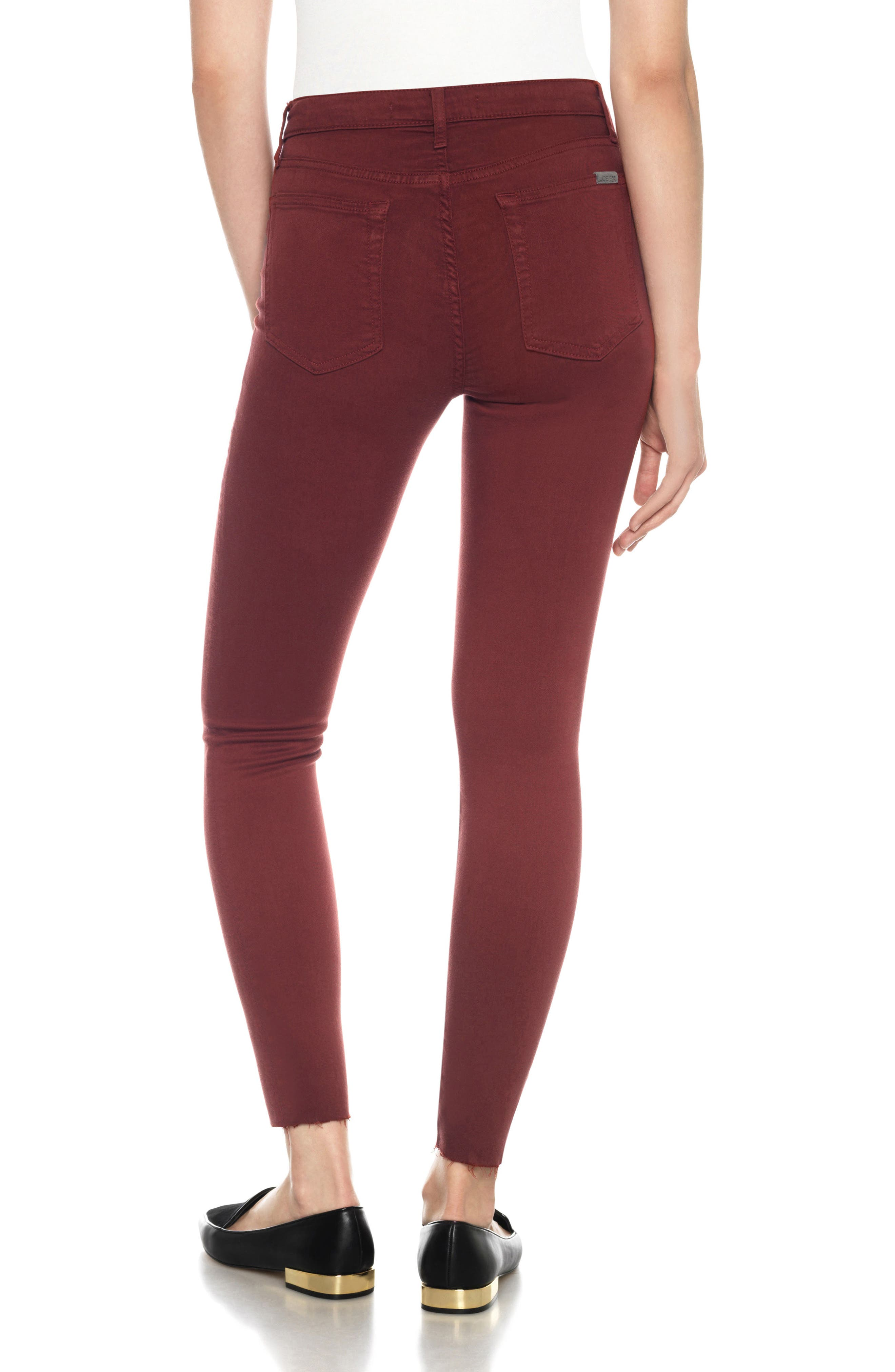 Charlie High Rise Ankle Skinny Jeans,                             Alternate thumbnail 18, color,