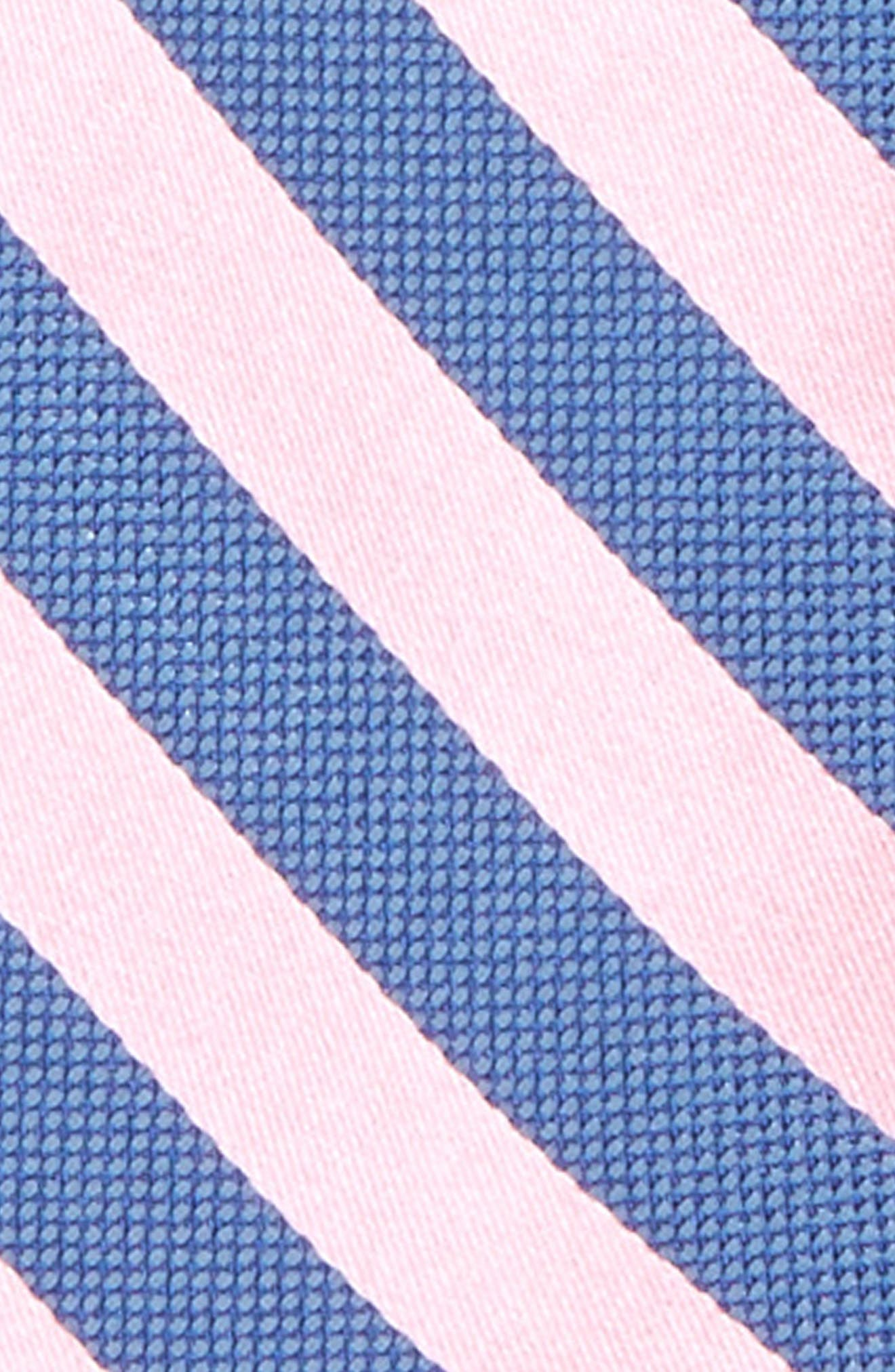 Stripe Silk Zip Tie,                             Alternate thumbnail 7, color,