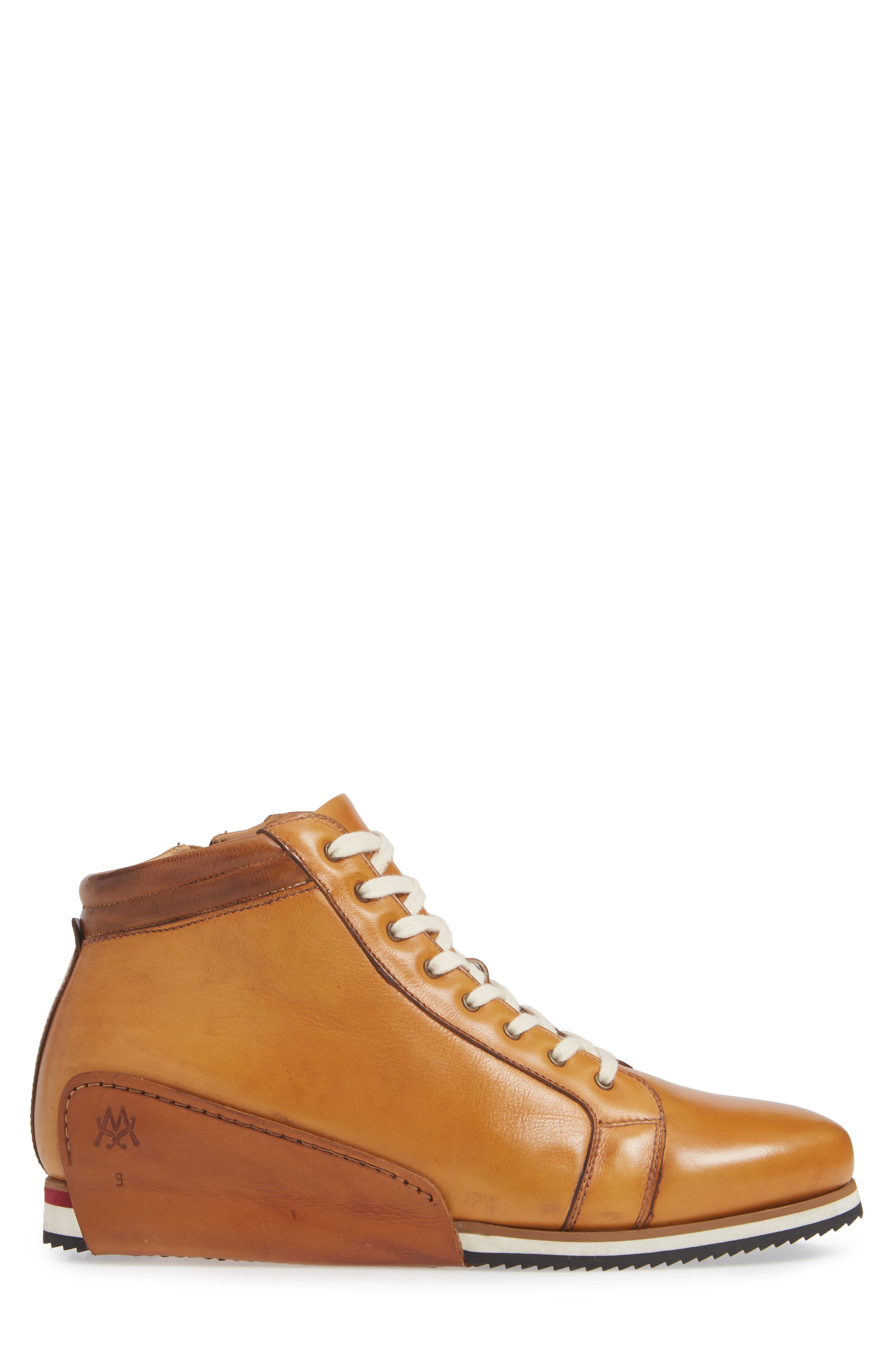 Niro Sneaker,                             Alternate thumbnail 3, color,                             TAN LEATHER
