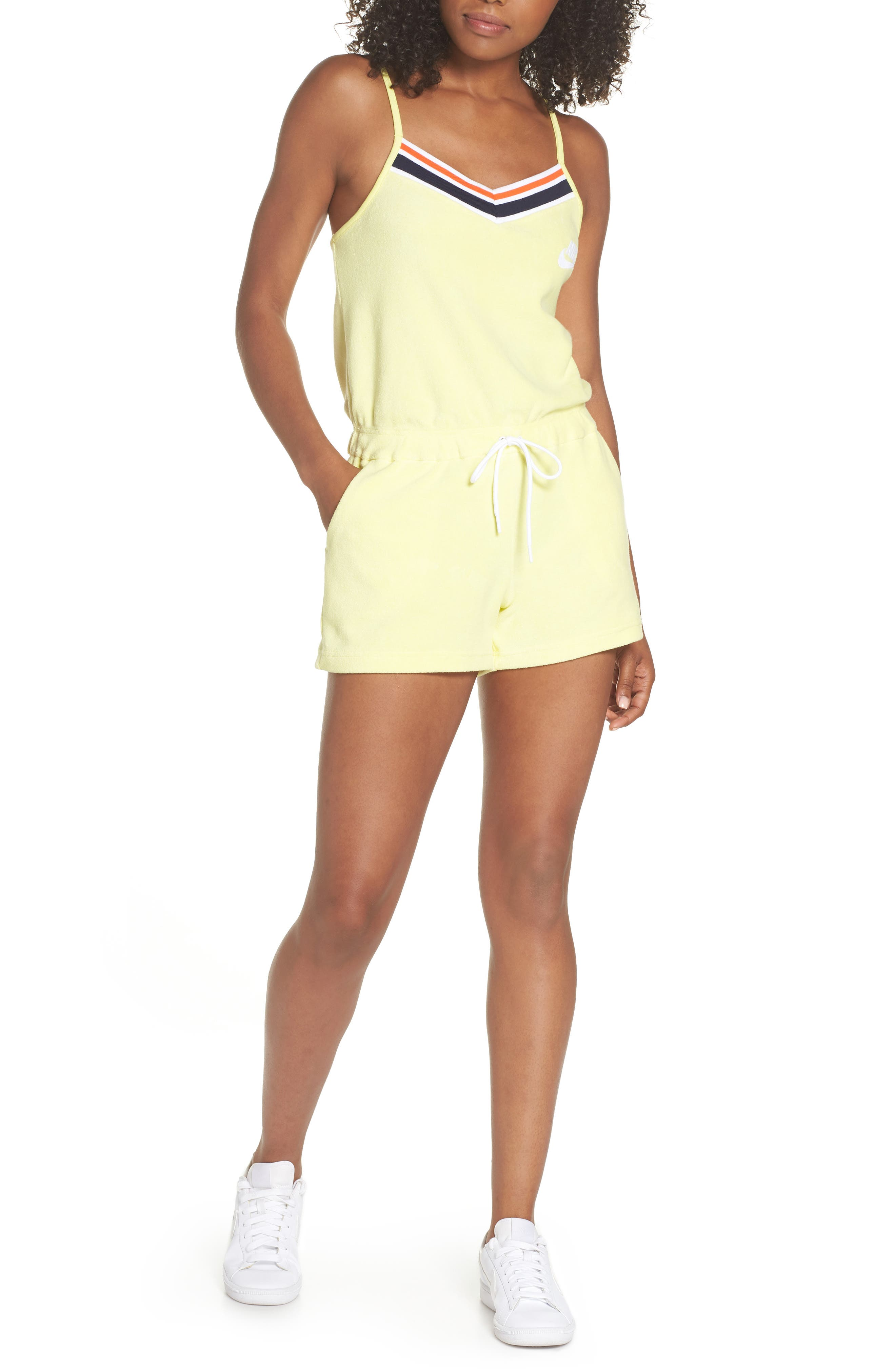 Sportswear Terry Romper,                             Main thumbnail 2, color,