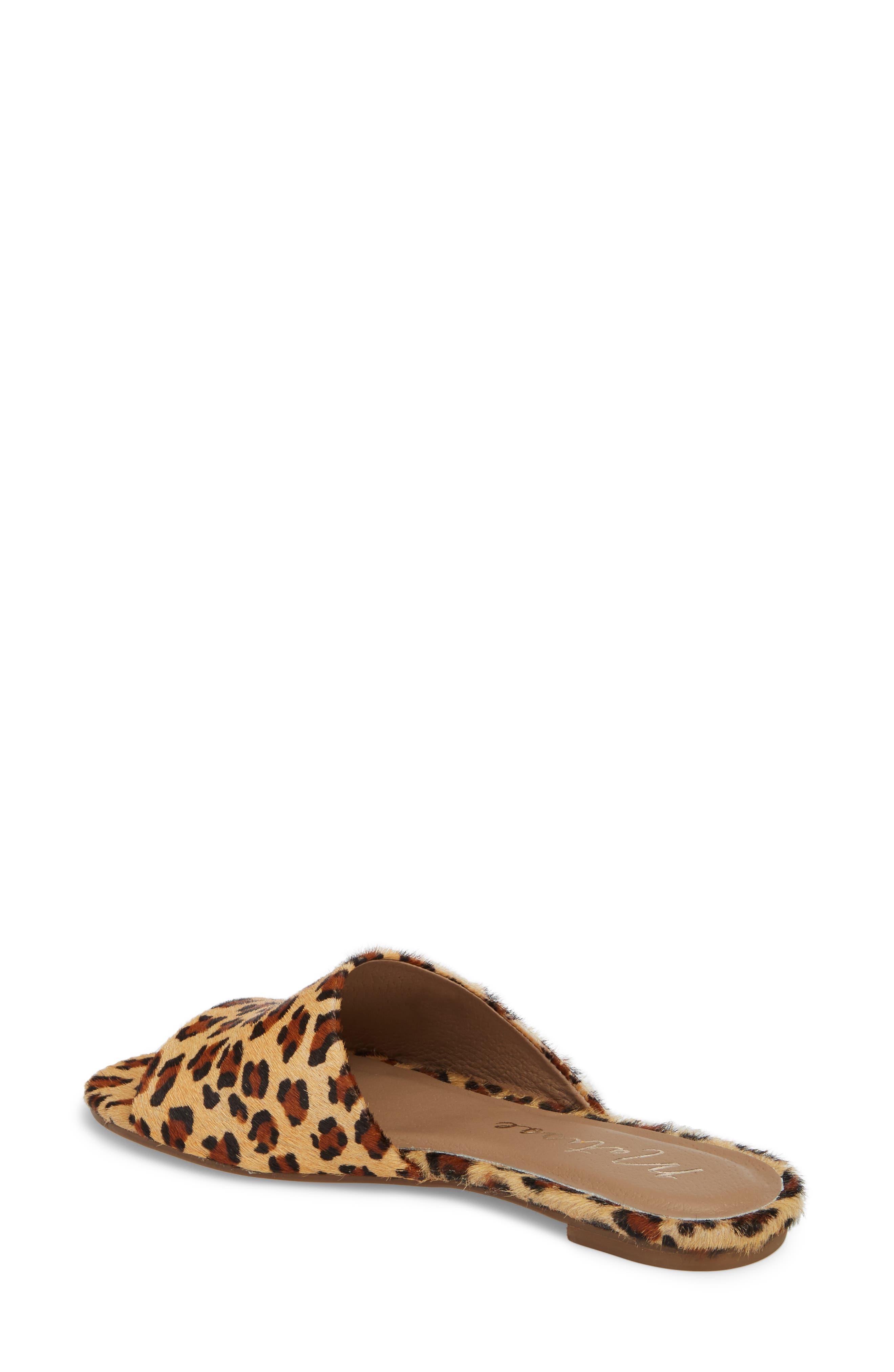 Lira Genuine Calf Hair Sandal,                             Alternate thumbnail 2, color,                             LEOPARD LEATHER