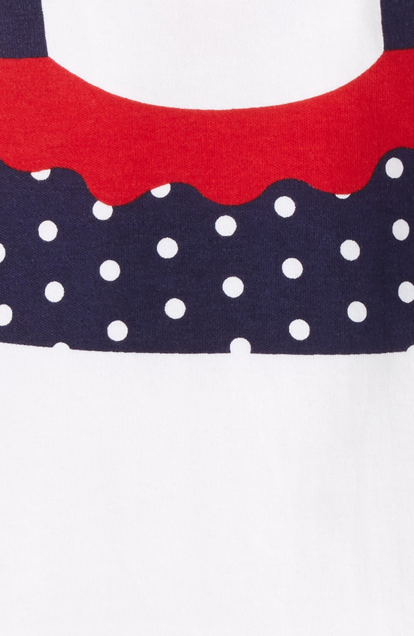 Polka Dot Bodysuit,                             Alternate thumbnail 3, color,                             100