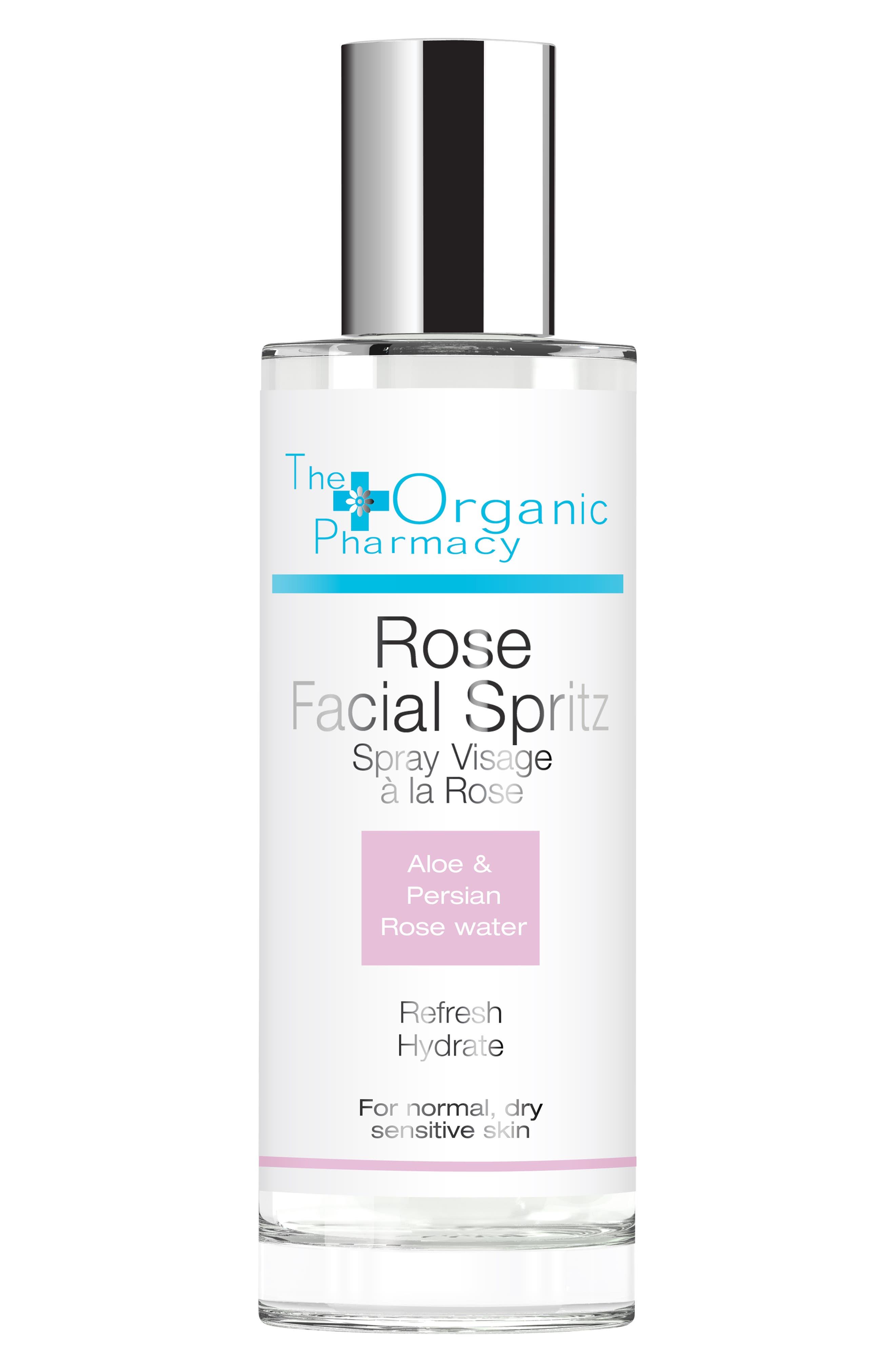 Rose Facial Spritz,                             Main thumbnail 1, color,                             NO COLOR