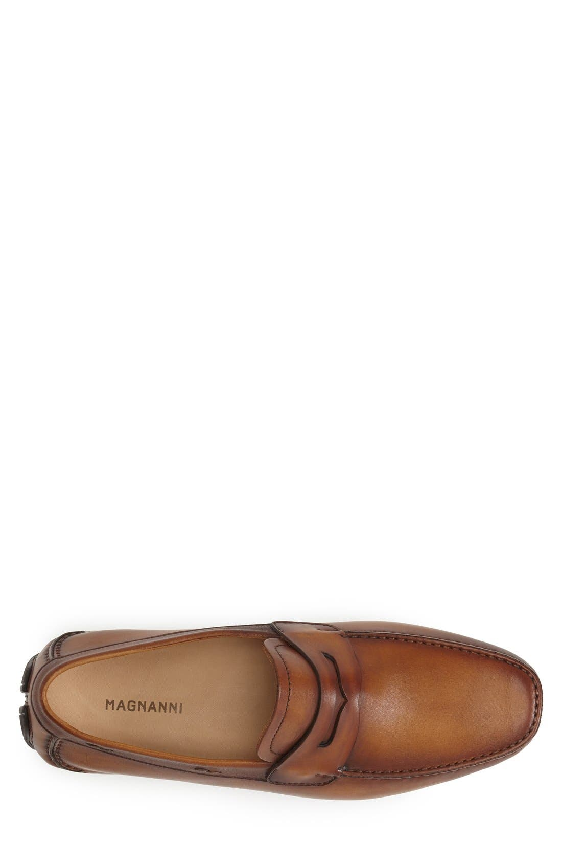 'Dylan' Leather Driving Shoe,                             Alternate thumbnail 16, color,