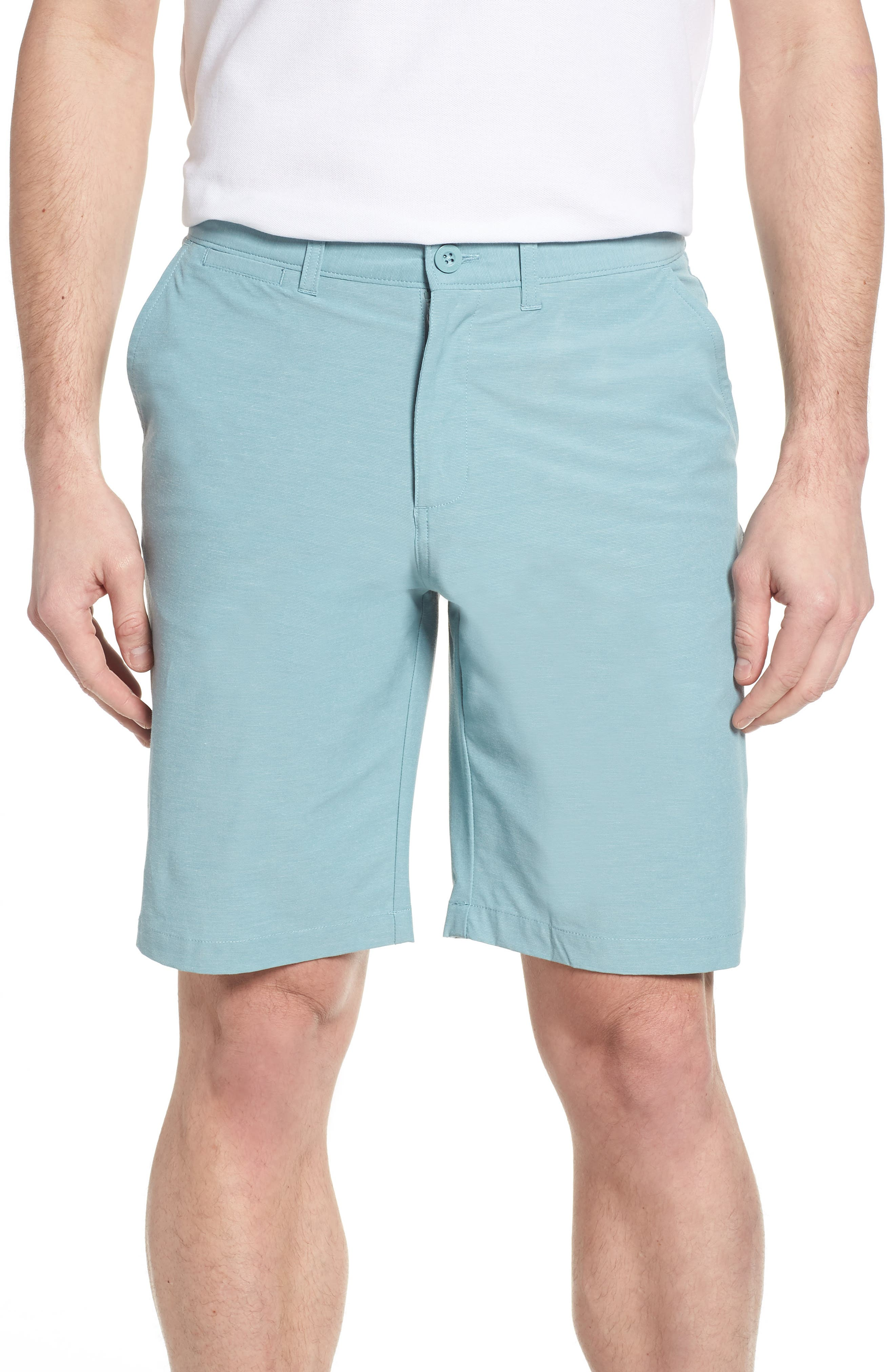 Wyatt Regular Fit Stretch Shorts,                             Main thumbnail 3, color,