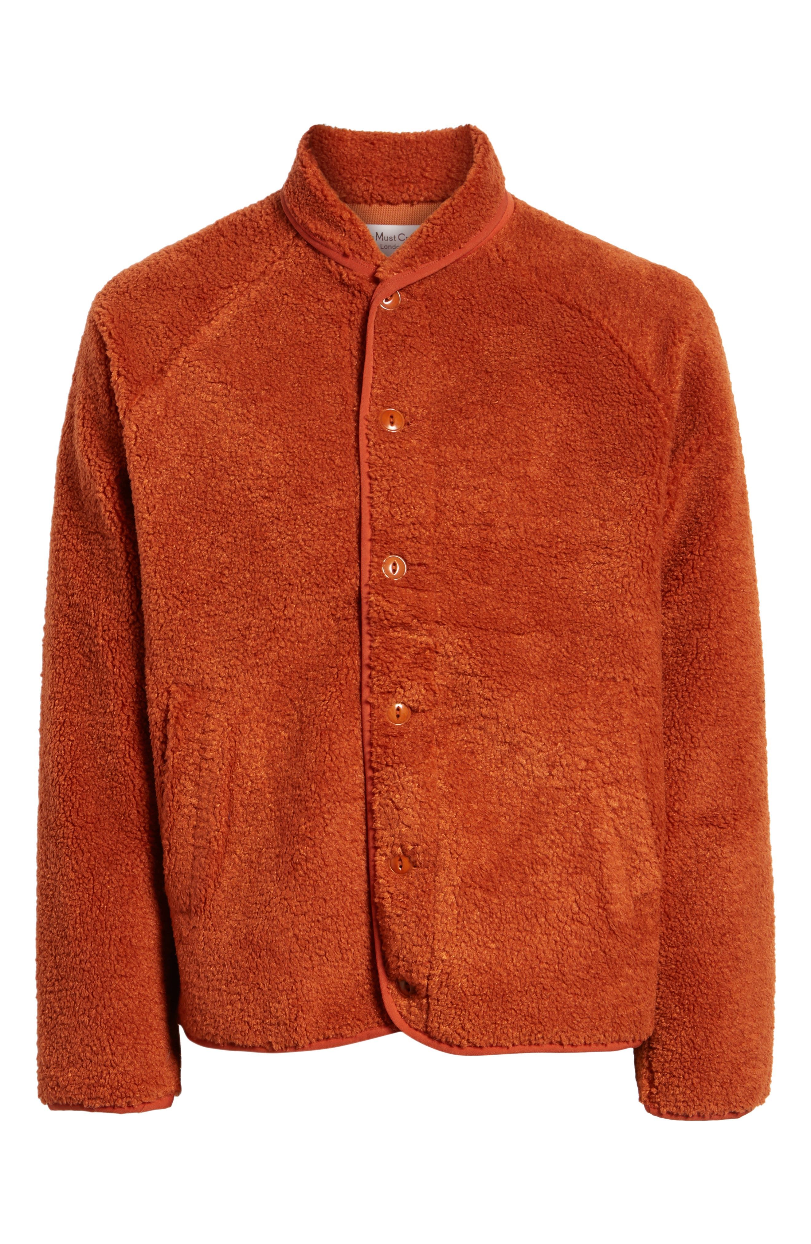 Beach Fleece Jacket,                             Alternate thumbnail 5, color,                             600