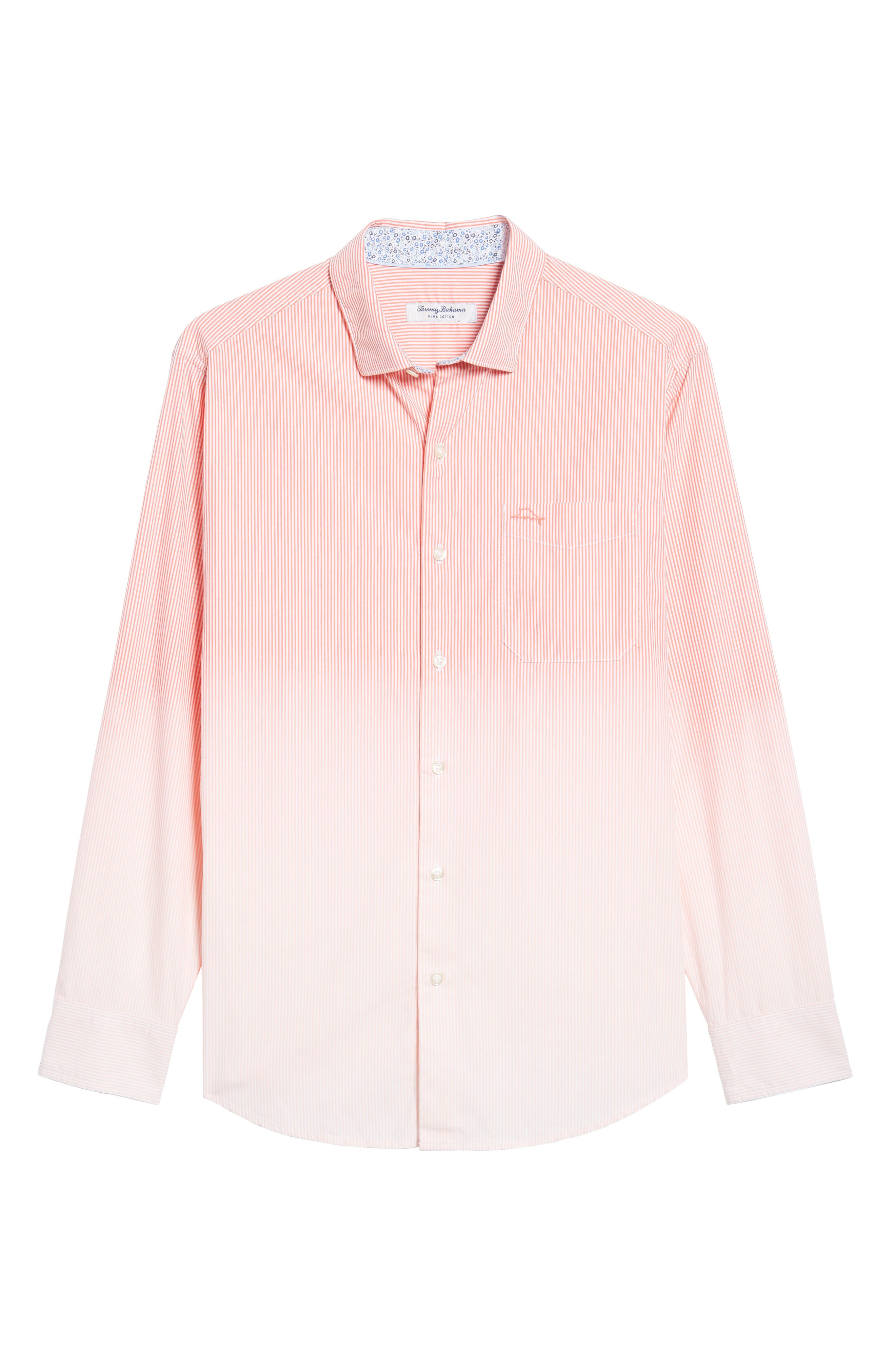 Fadeaway Beach Sport Shirt,                             Alternate thumbnail 6, color,                             950