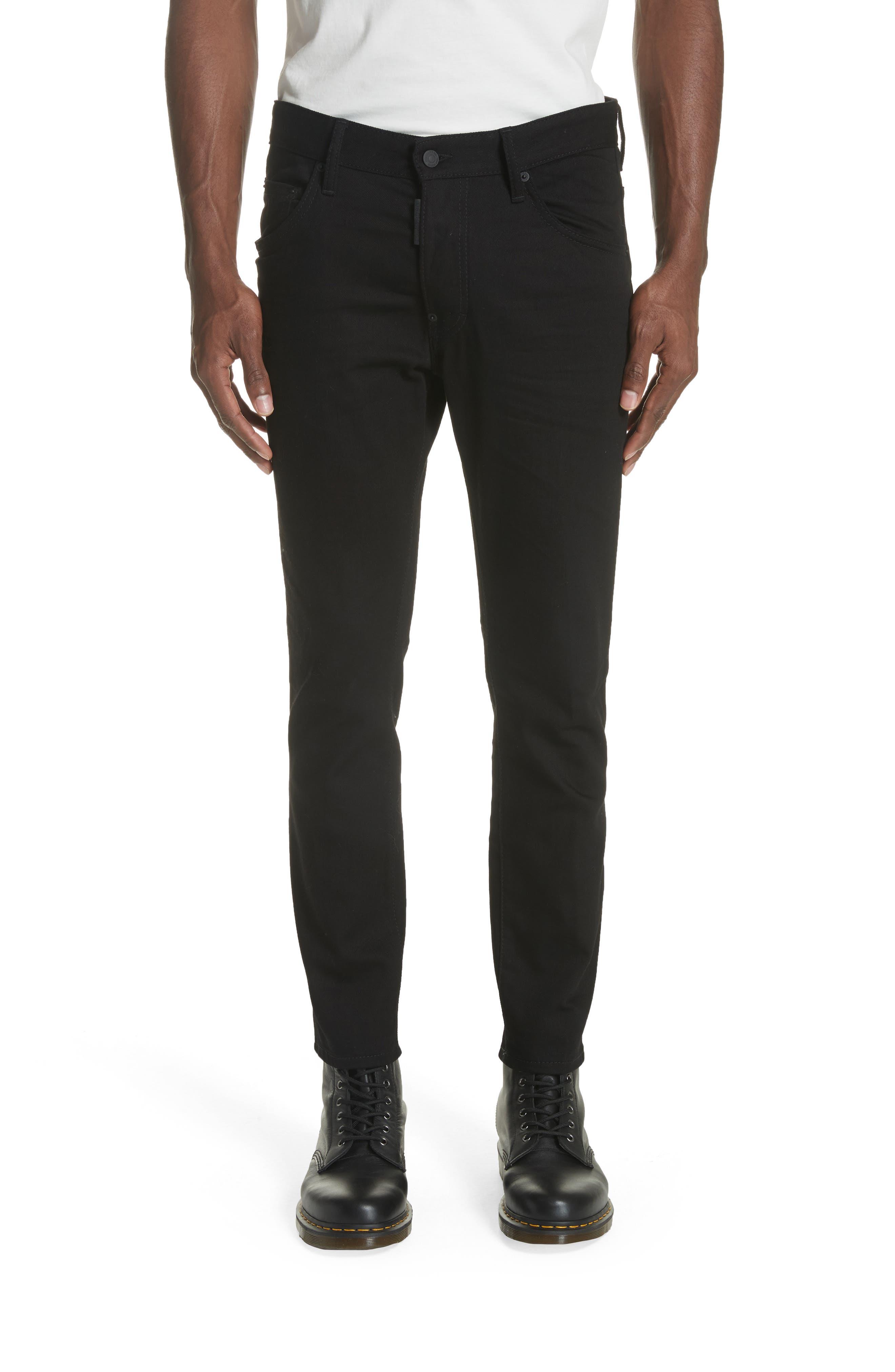 Black Bull Skater Jeans,                             Main thumbnail 1, color,                             BLACK