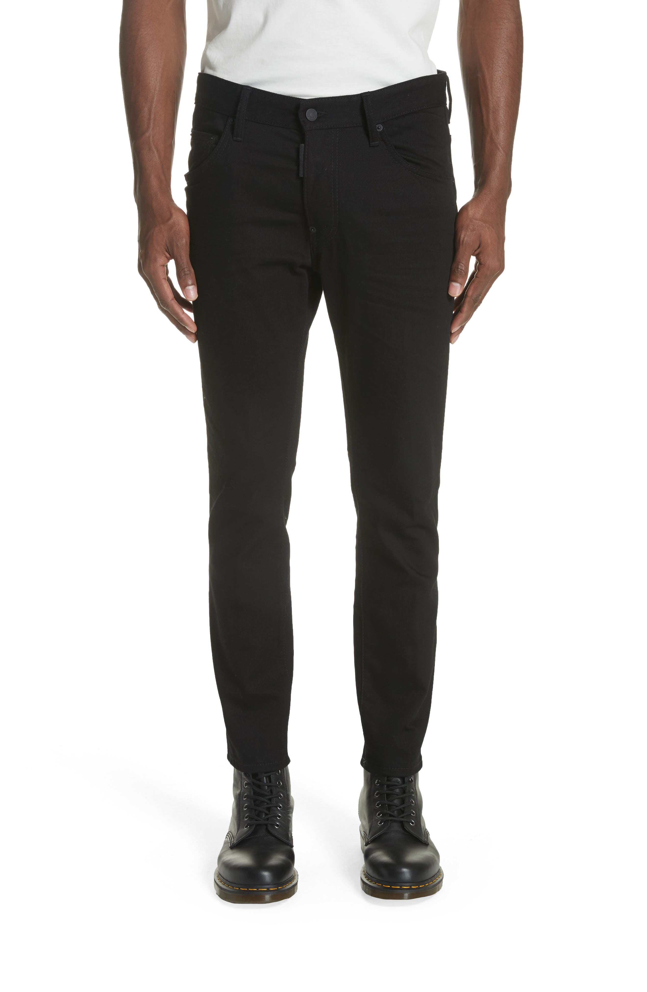 Black Bull Skater Jeans,                         Main,                         color, BLACK
