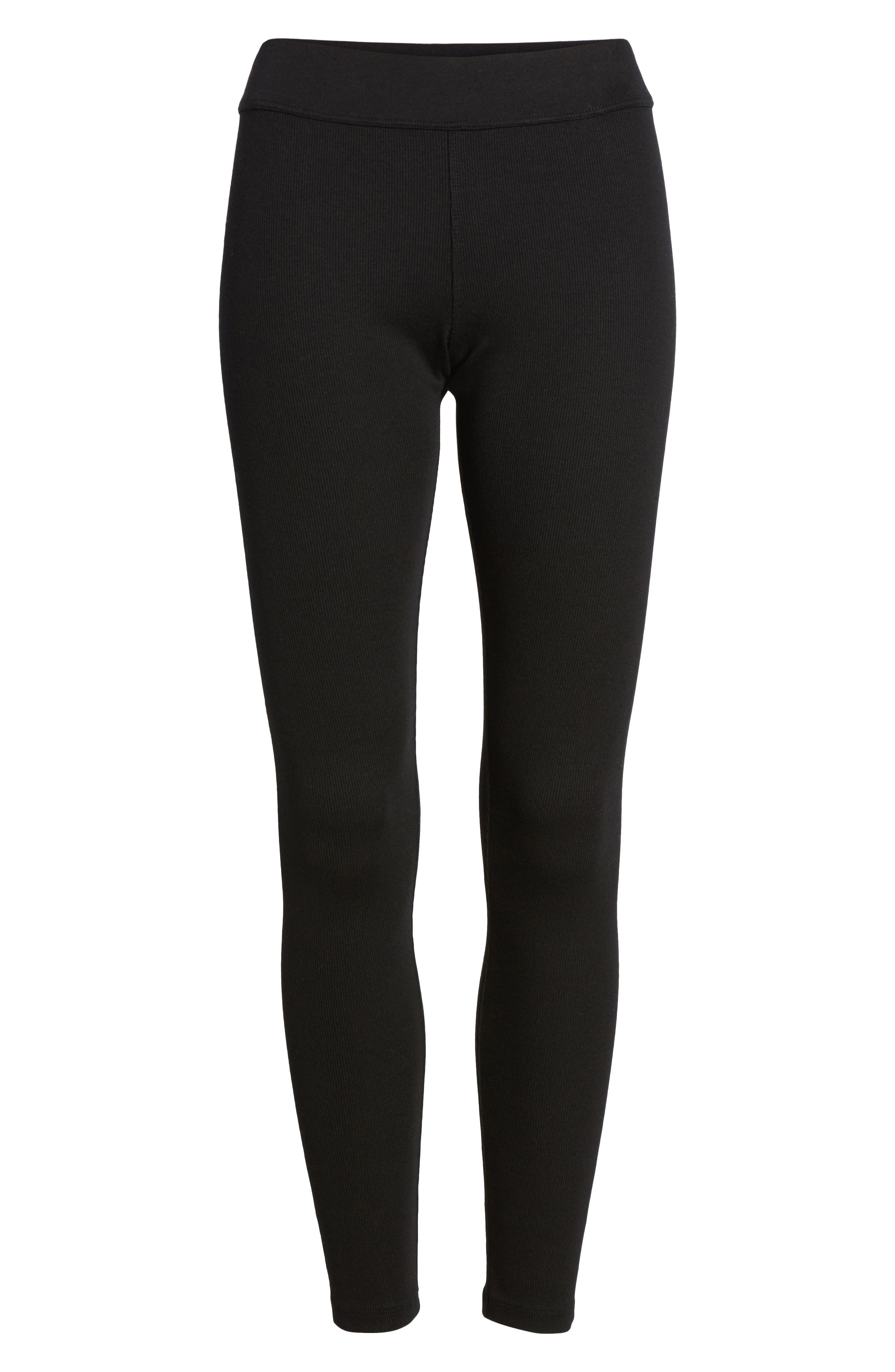 Ribbed Leggings,                             Alternate thumbnail 6, color,
