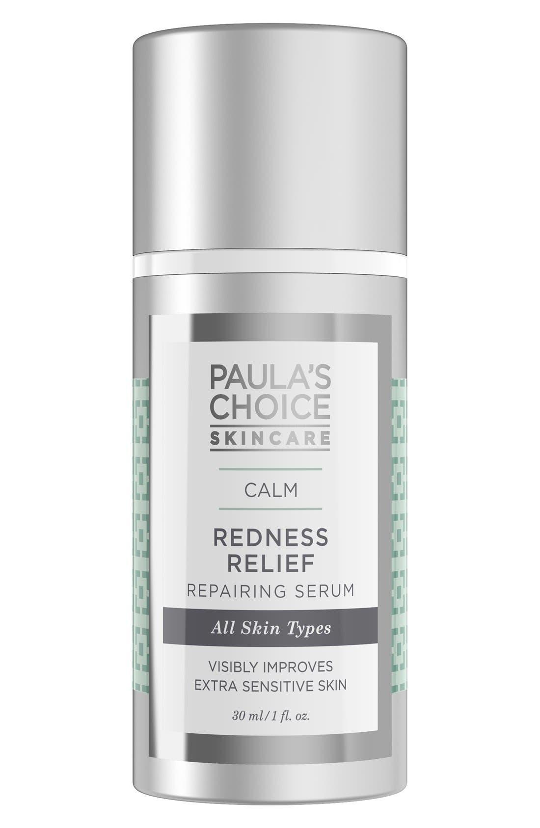 Calm Redness Relief Repairing Serum,                             Main thumbnail 1, color,