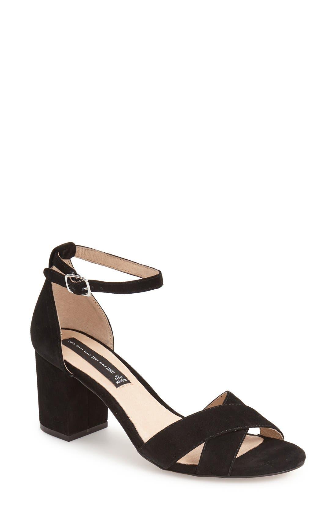 'Voomme' Ankle Strap Sandal,                         Main,                         color,