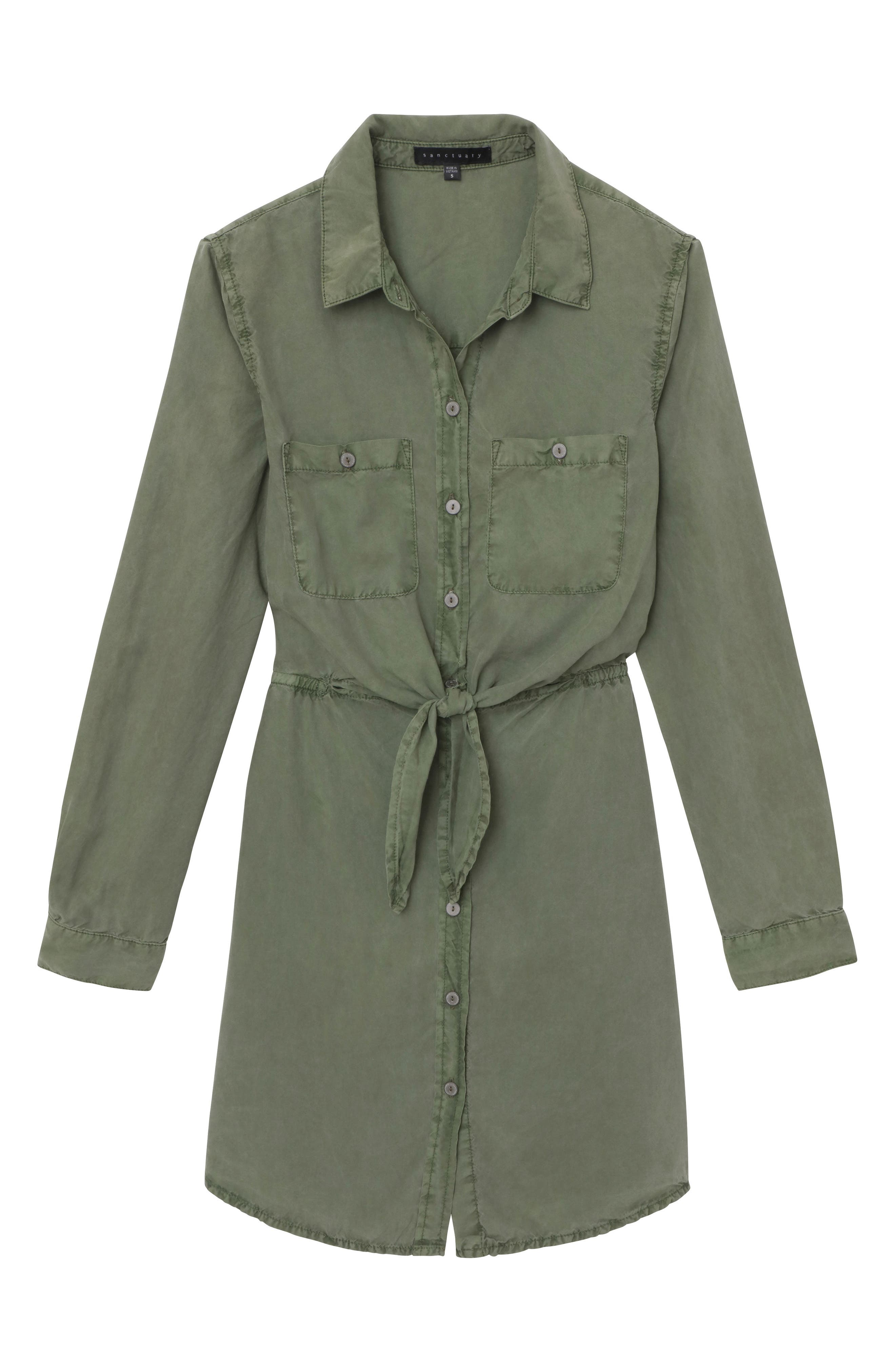 Forget Me Knot Shirtdress,                             Alternate thumbnail 3, color,                             300