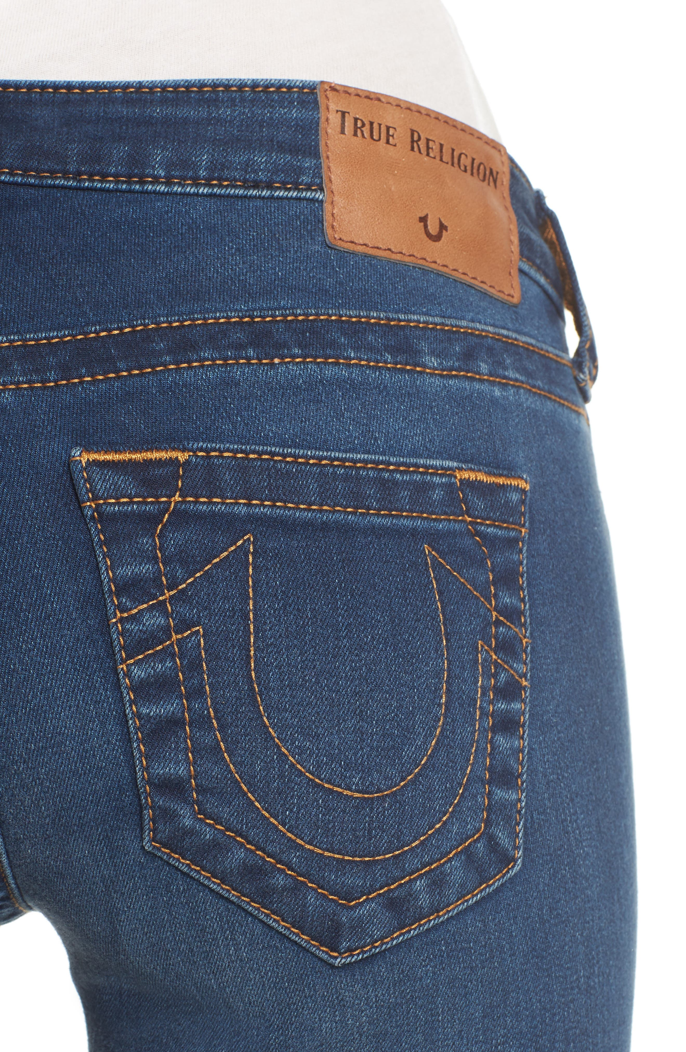 Billie Straight Leg Jeans,                             Alternate thumbnail 4, color,                             400