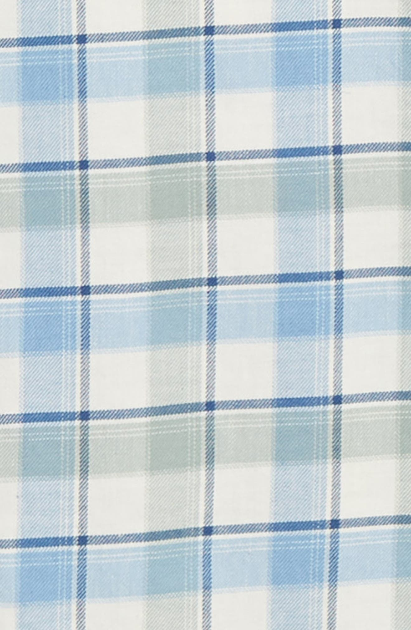 VINEYARD VINES,                             Bayside Slim Fit Plaid Sport Shirt,                             Alternate thumbnail 6, color,                             LIGHT SAGE